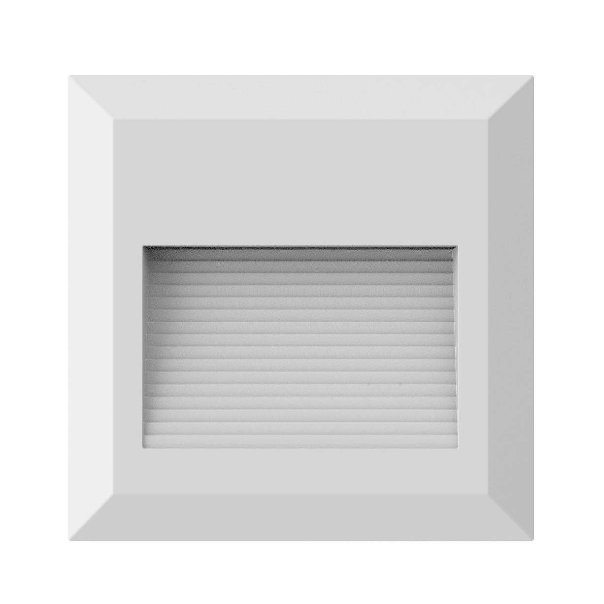 Luminaria de Sobrepor LED Balizador PLS 2W Branca IP65 - Ecoline