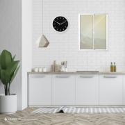 Janela de Correr de Alumínio 2 Folhas 100x80 cm Metalflex - Aluvid