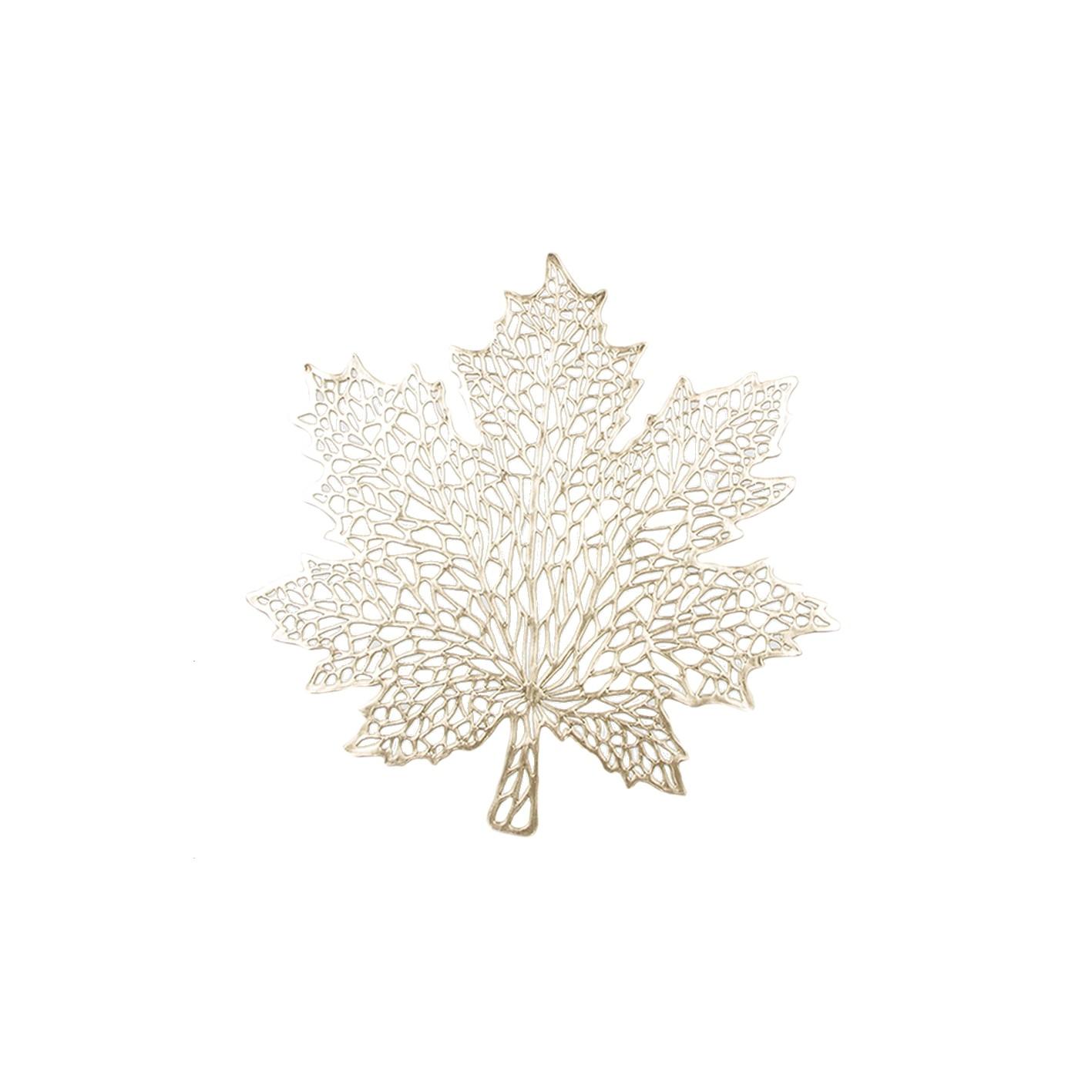 Pano Americano Retangular 42 x 33 cm PVC Ouro - Bianchini