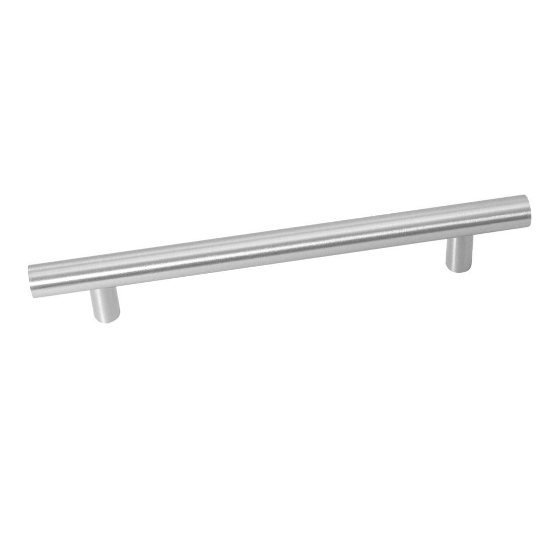 Puxador de Aco Inox Escovado 096 mm - Bangai Hastvel
