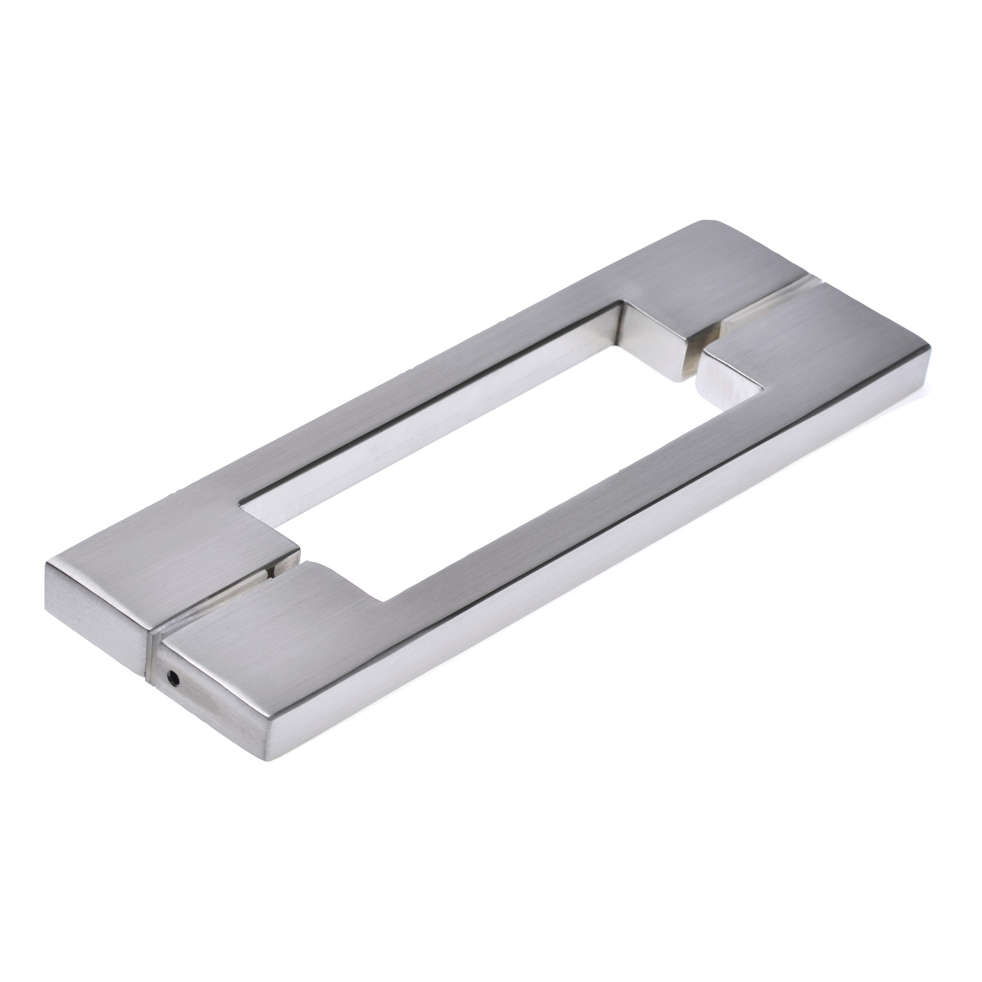 Puxador de Aco Inox Escovado 400 mm - Munique Hastvel