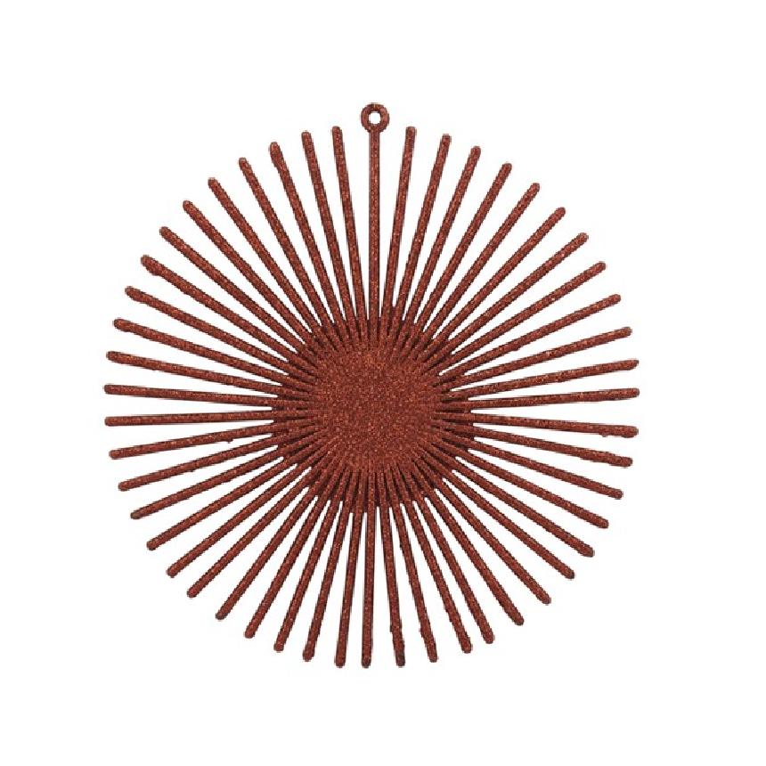 Enfeite de Arvore Natalina Circulo 14 cm Vermelho - 21763002