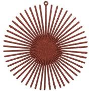 Enfeite de Árvore Natalina Circulo 14 cm Vermelho - 21763002