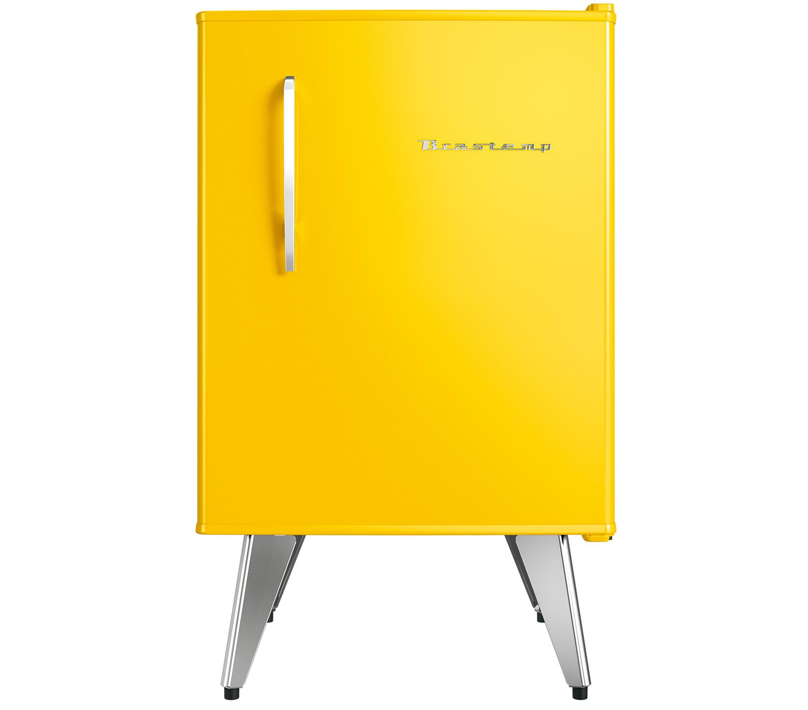 Frigobar Brastemp 1 Porta 76L Amarelo 220V - BRA08BY