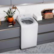 Lavadora de Roupa Brastemp 15Kg Branco 220V Double Wash com Ciclo Edredom - BWD15AB