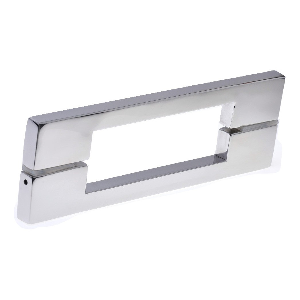 Puxador de Aco Inox Polido 800 mm - Munique Hastvel