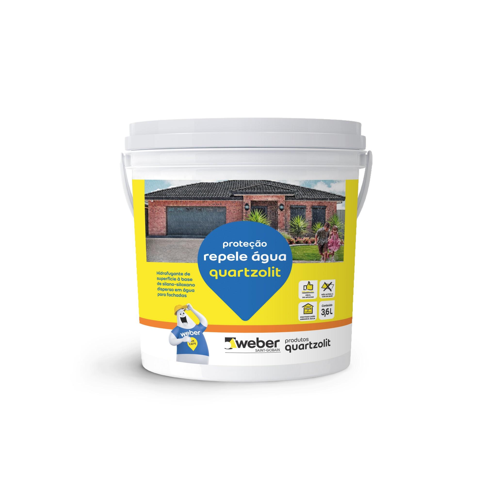Protecao Repele Agua 36L - Quartzolit