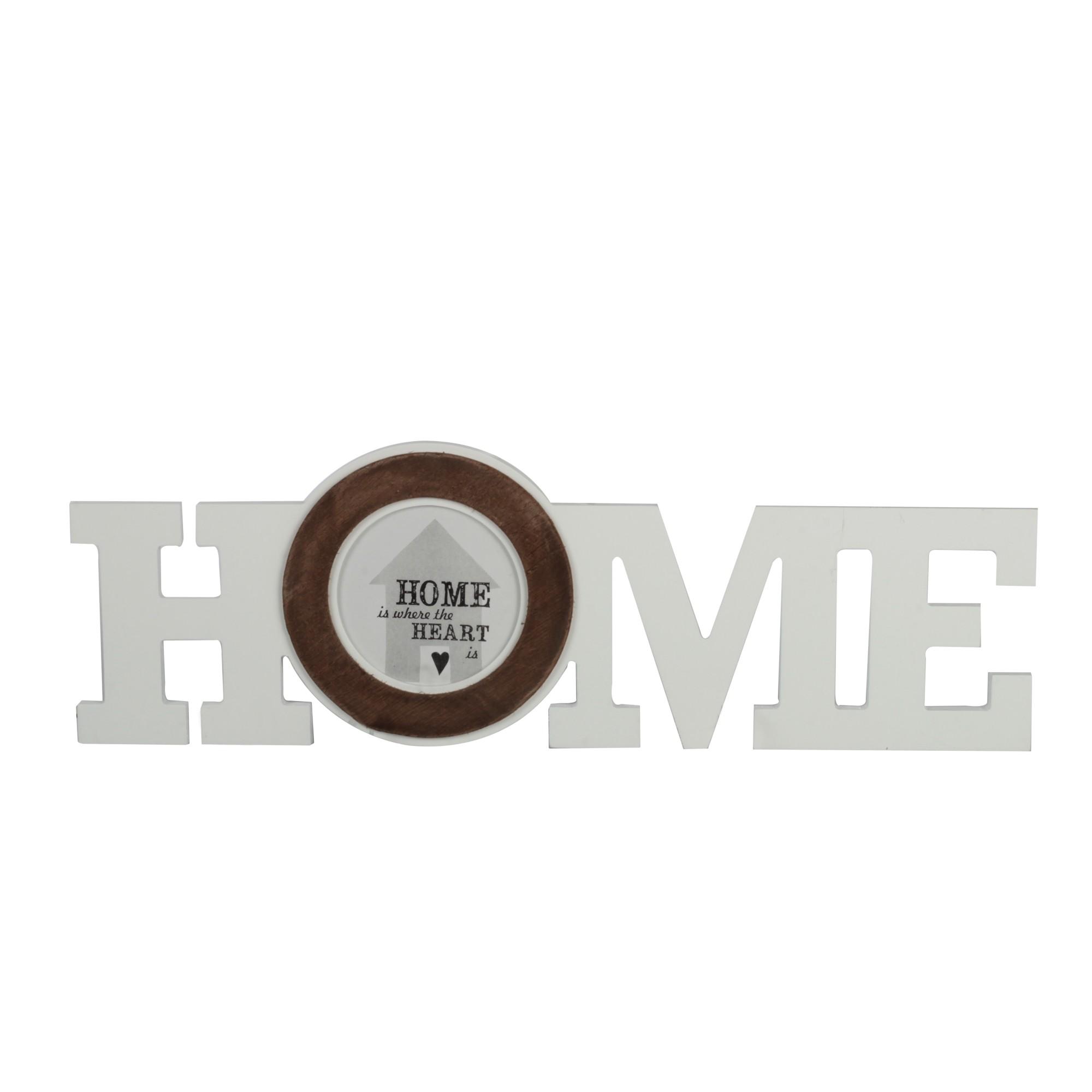 Placa Decorativa 17x30 cm Home 02014 - Noritex