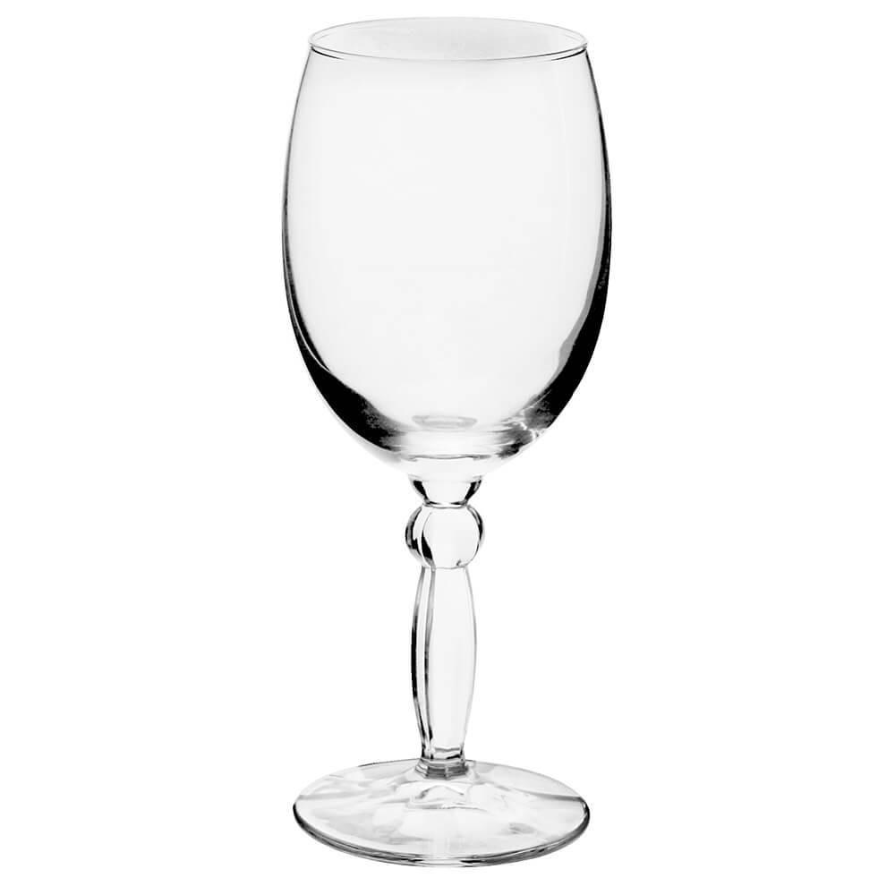 Jogo de Tacas para Agua de Vidro 6 pecas 300ml Transparente - Full Fit