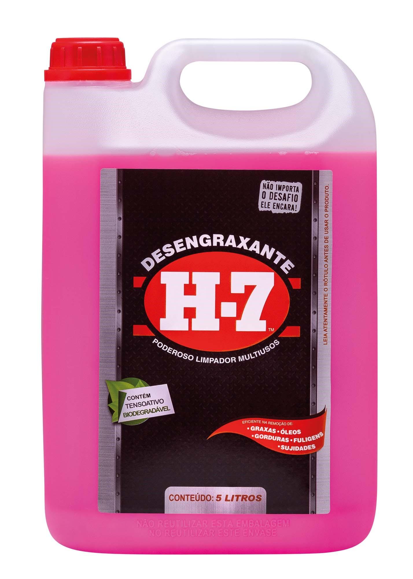 Detergente Desengraxante Multiuso H-7 Refil 5L - Xadrez