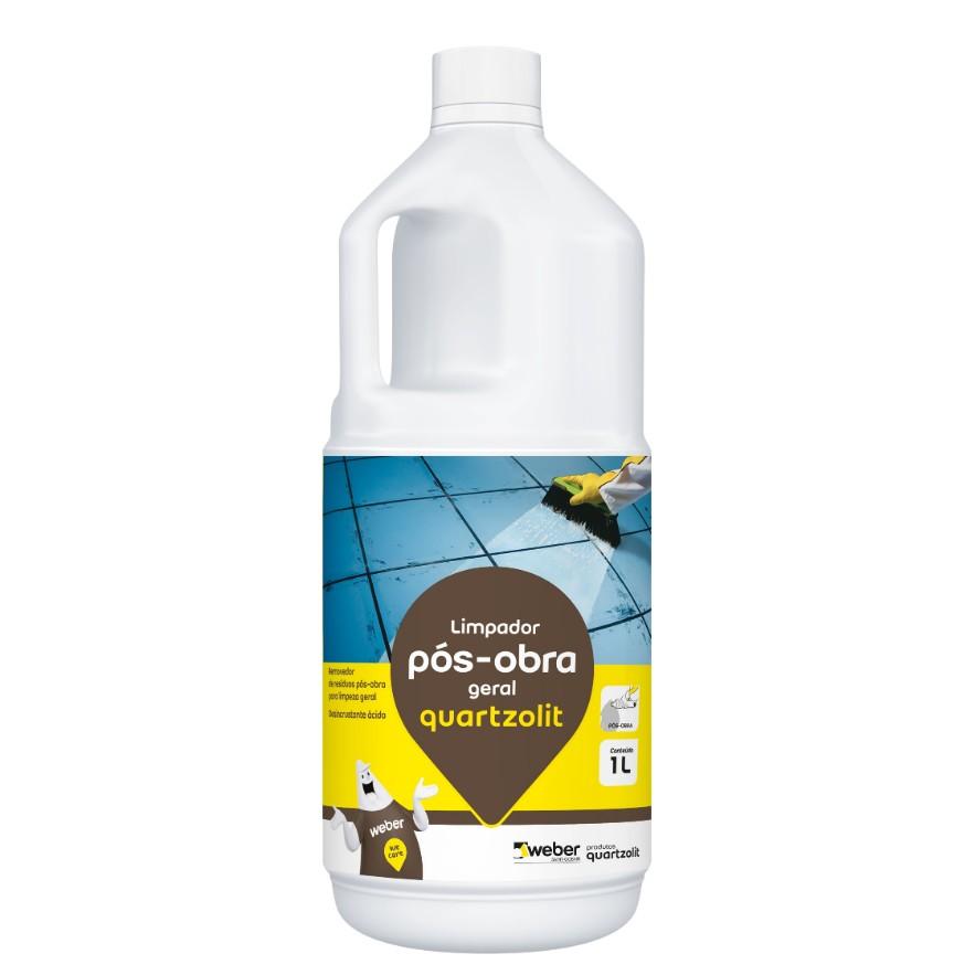 Desincrustante Acido Removedor de Residuos Pos-obra para Limpeza Geral 10L - Quartzolit
