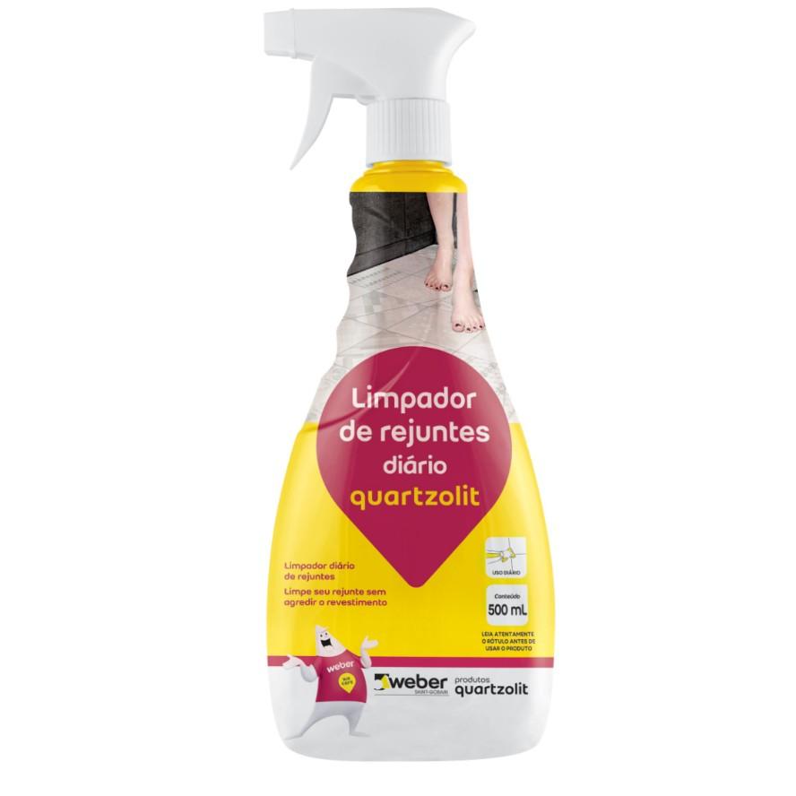 Limpador de Rejuntes Uso Diario 500ml - Quartzolit