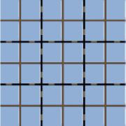 Revestimento Square Laguna Mesh Brilhante Tipo A Borda Bold 9,5x9,5cm 1,59m² Azul Claro - Eliane