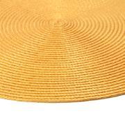 Pano Americano Redondo Amarelo 38cm Polipropileno 1 Peça - Bianchini
