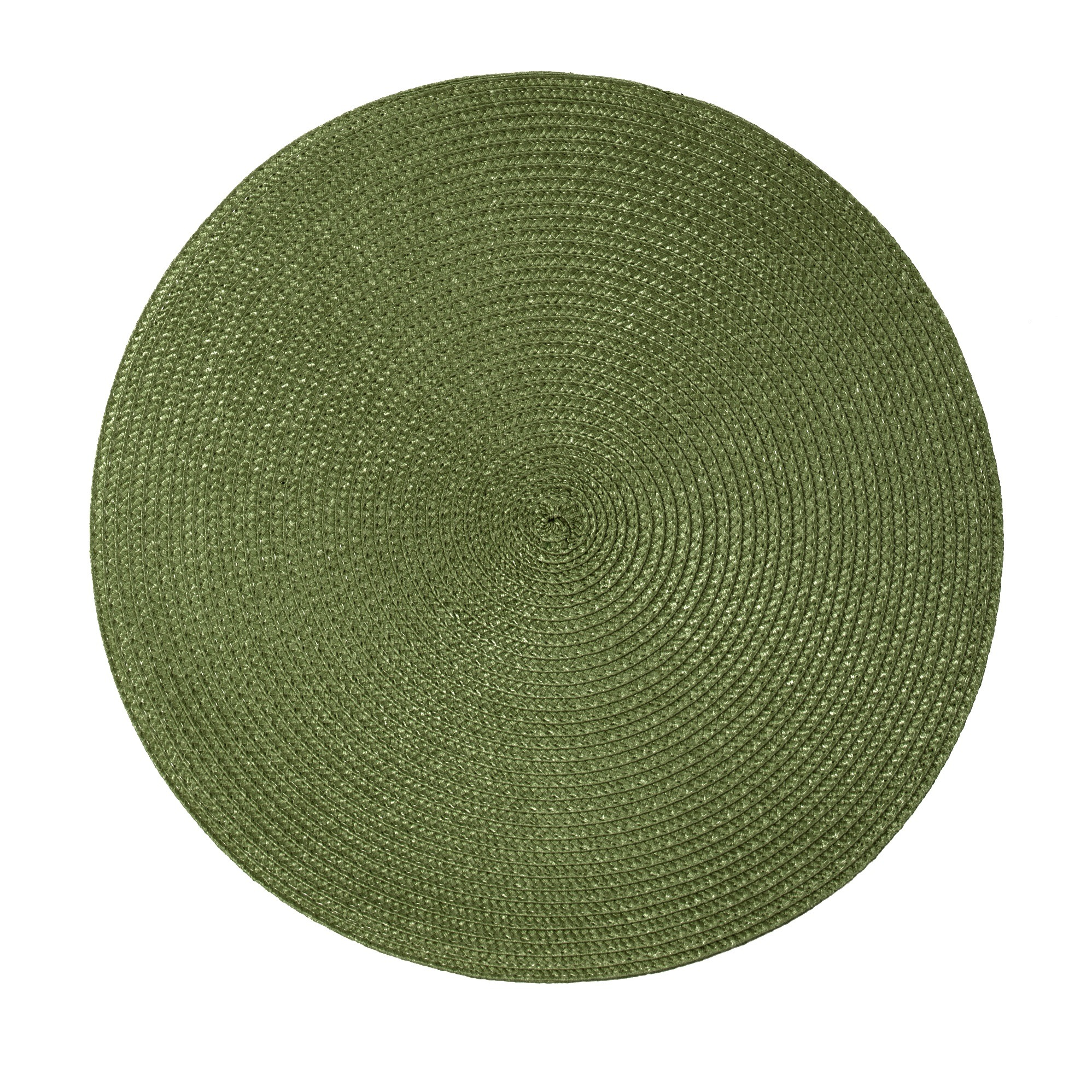 Pano Americano Redondo Verde 38 cm Polpropileno 1 Peca - Bianchini