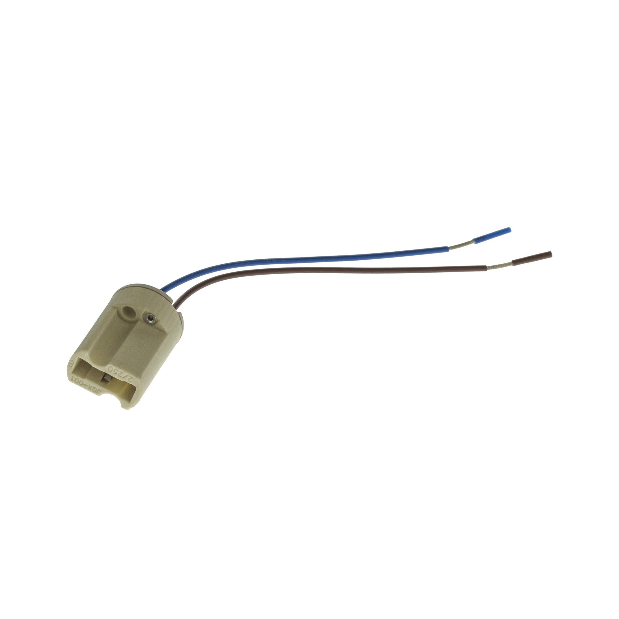 Soquete para Lampada Halopin G-9 10cm - Ecoline