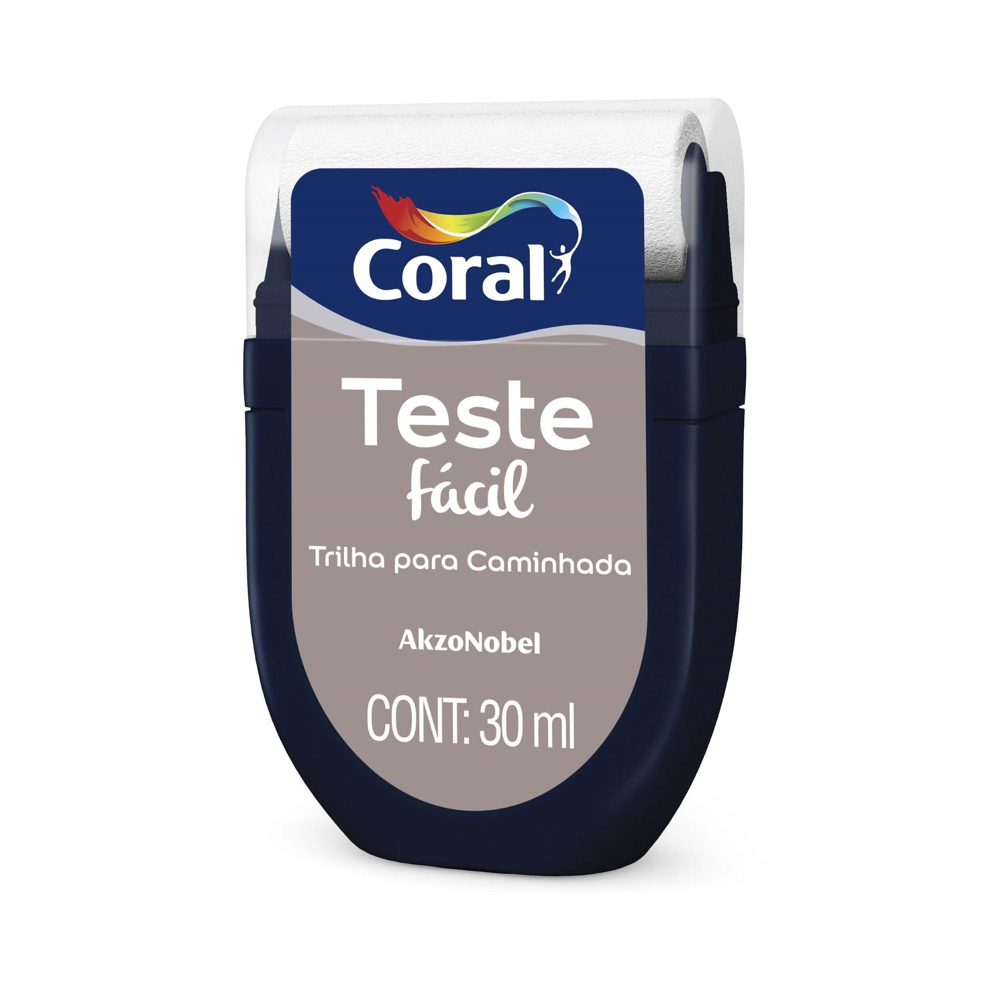Teste Facil 30ml Trilha para Caminhada - Coral