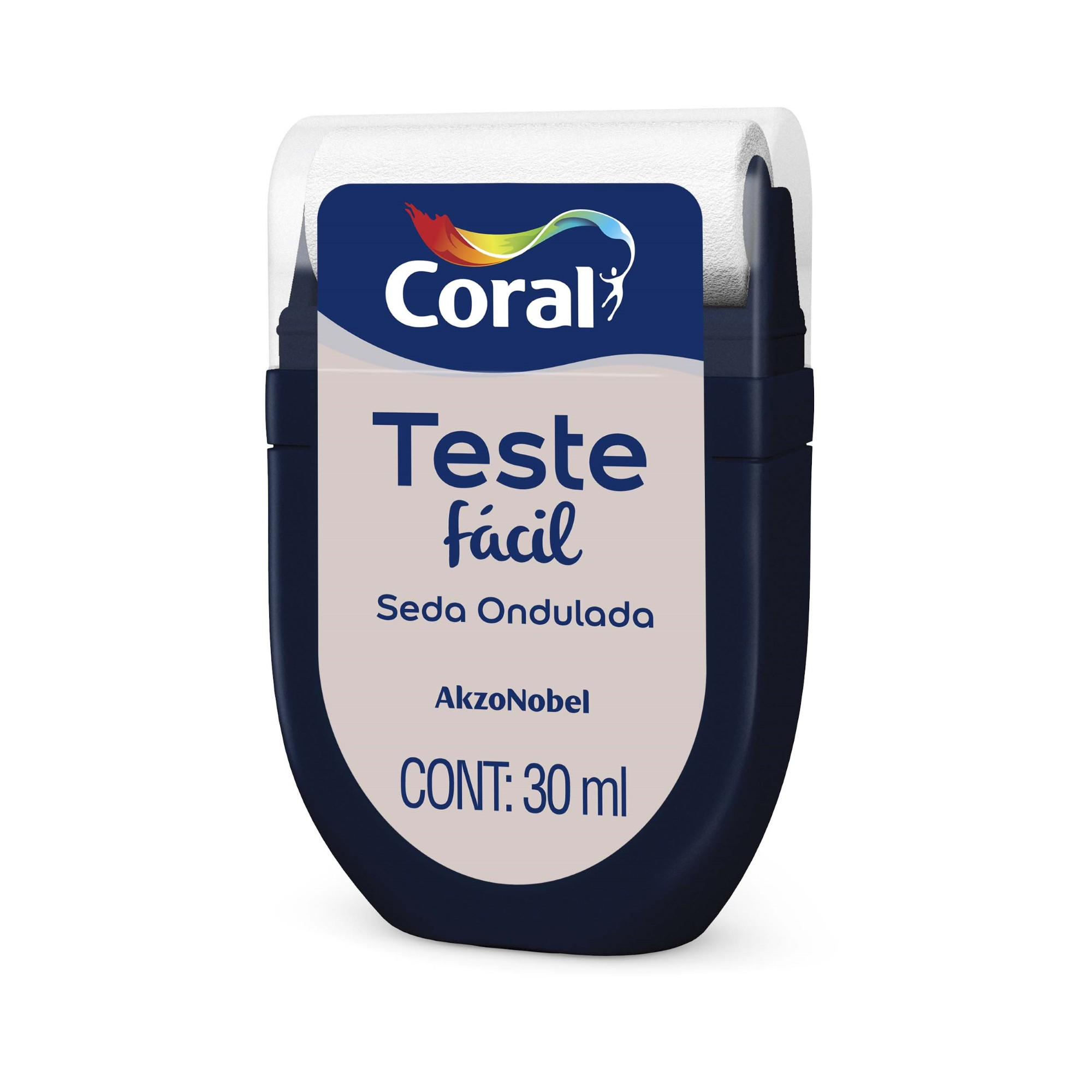 Teste Facil 30ml Seda Ondulada - Coral
