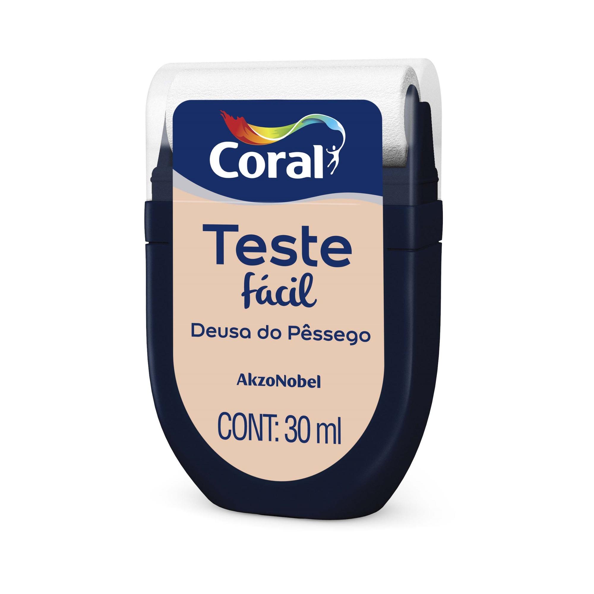 Teste Facil 30ml Deusa Do Pessego - Coral