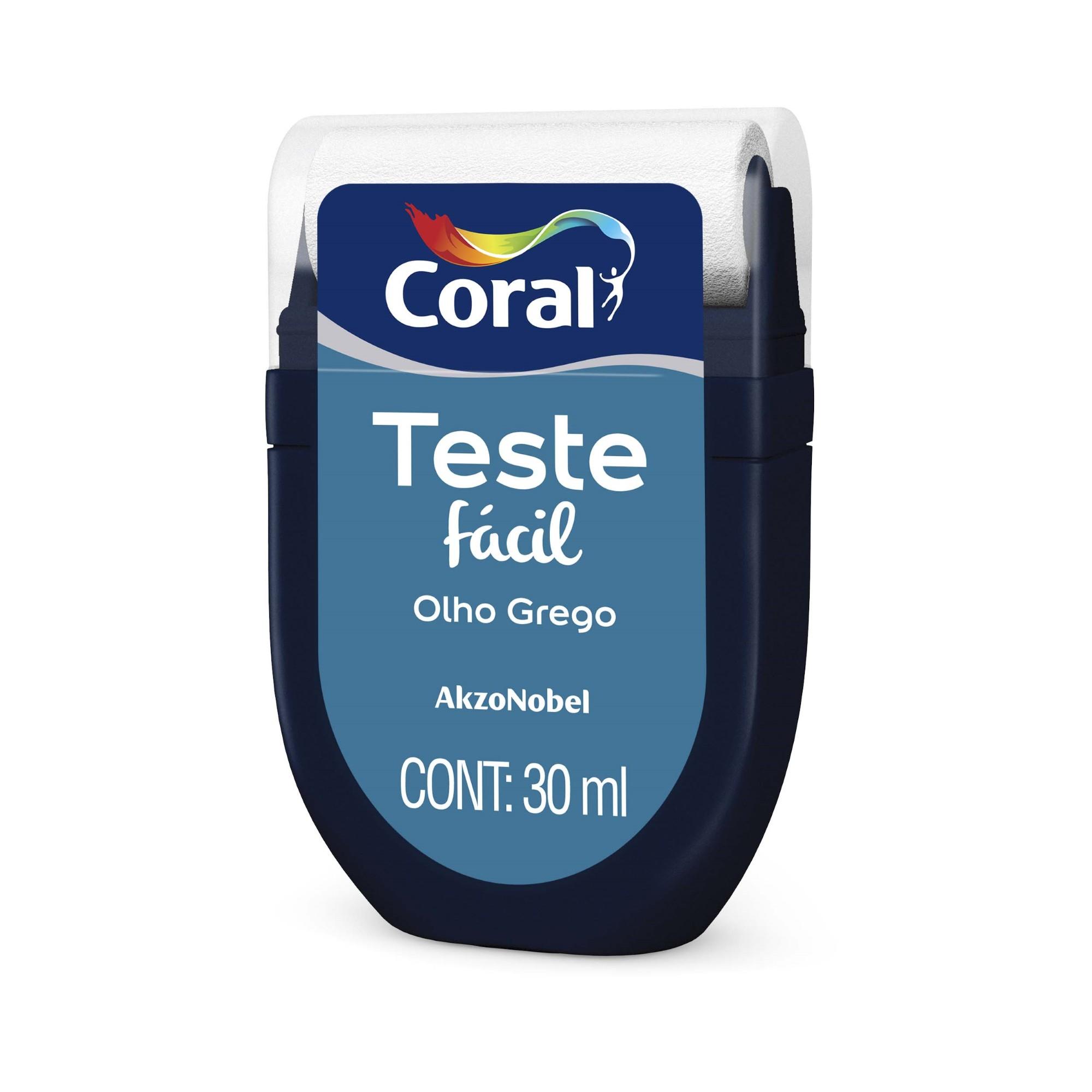 Teste Facil 30ml Olho Grego - Coral