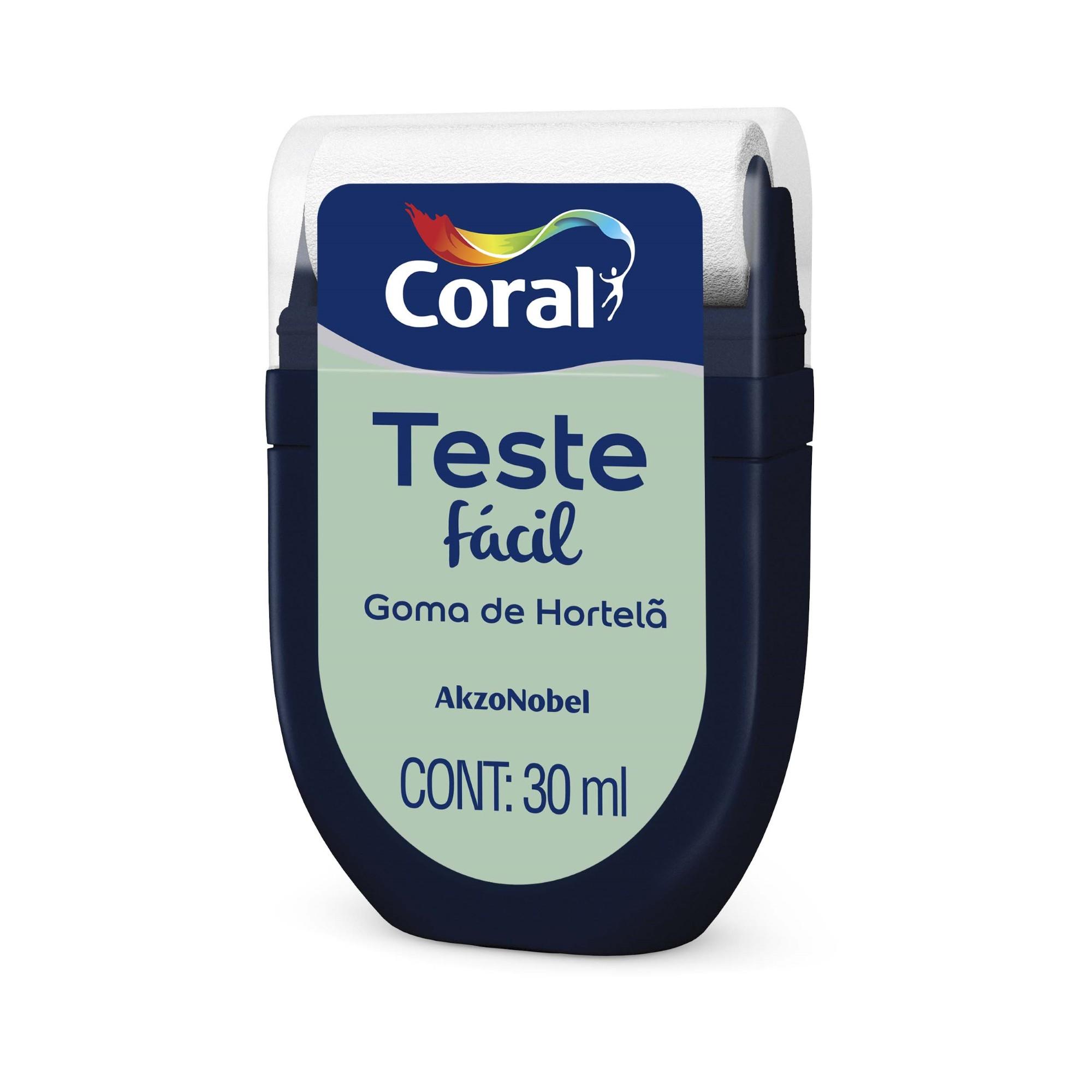 Teste Facil 30ml Goma de Hortela - Coral