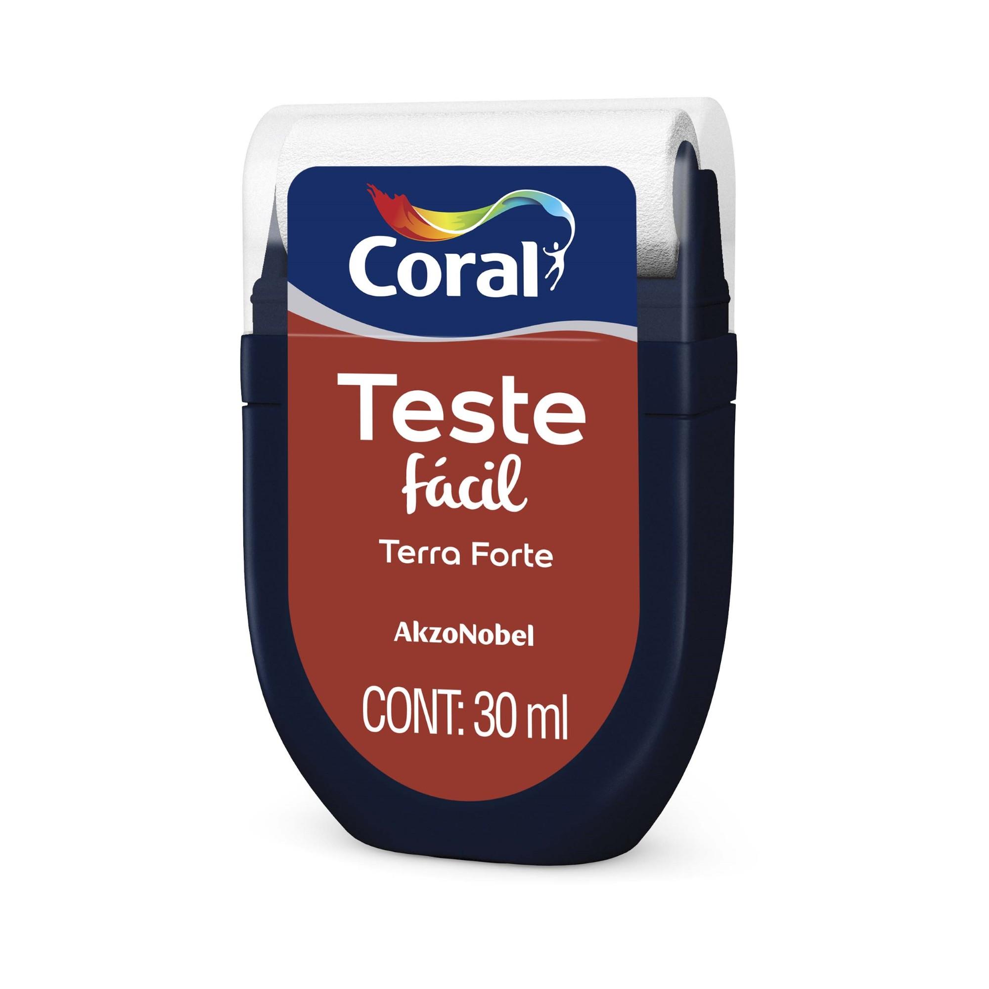Teste Facil 30ml Terra Forte - Coral
