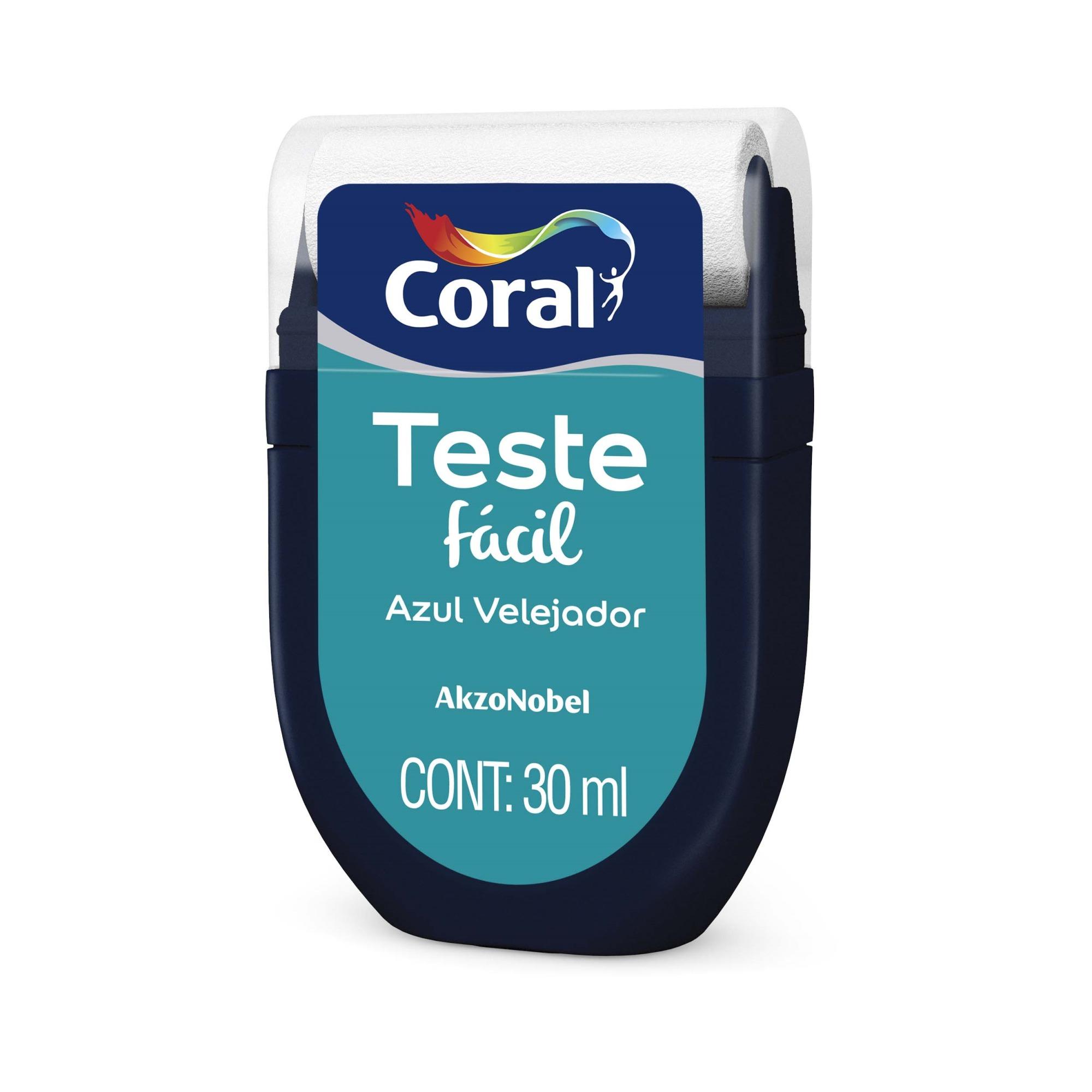 Teste Facil 30ml Azul Velejador - Coral