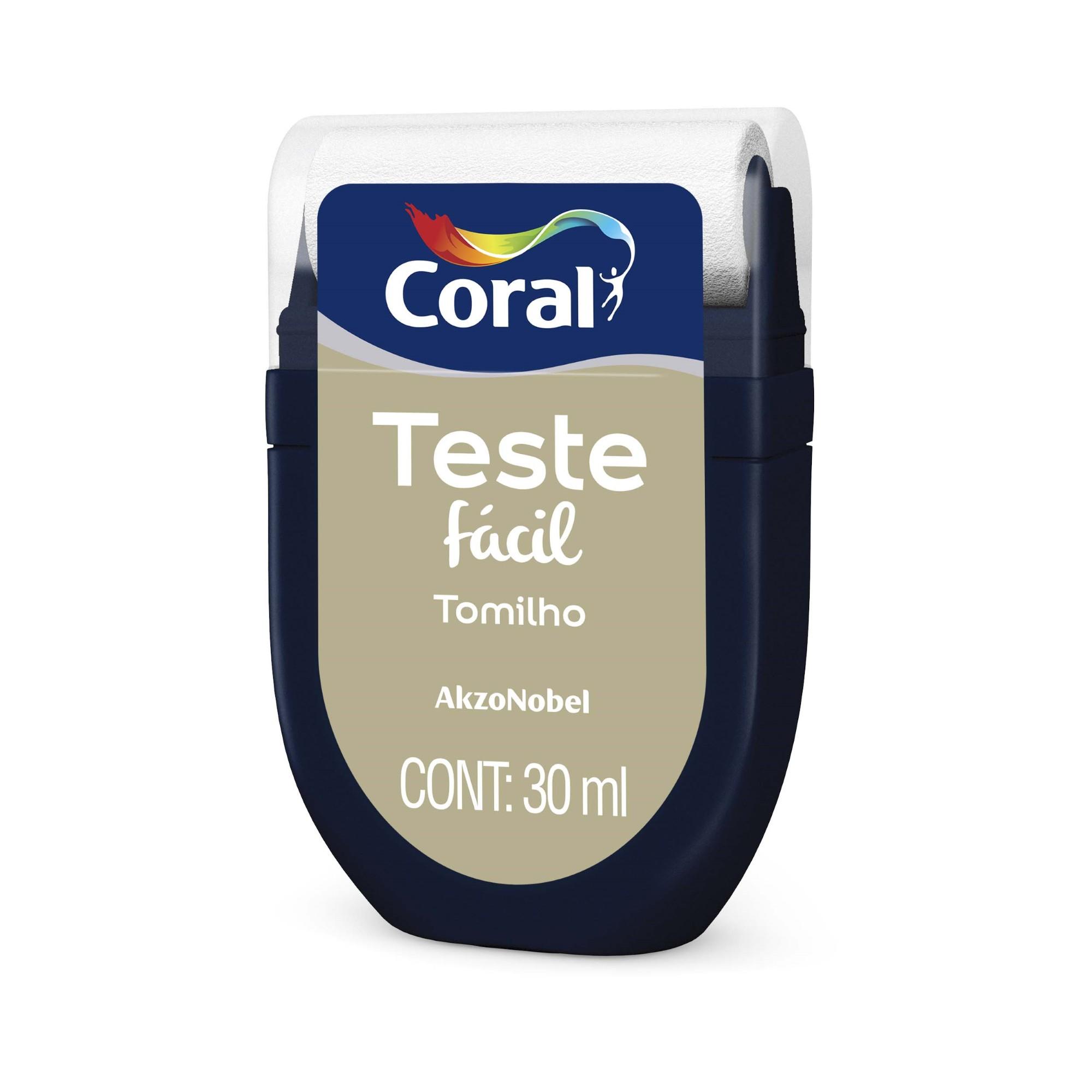 Teste Facil 30ml Tomilho - Coral