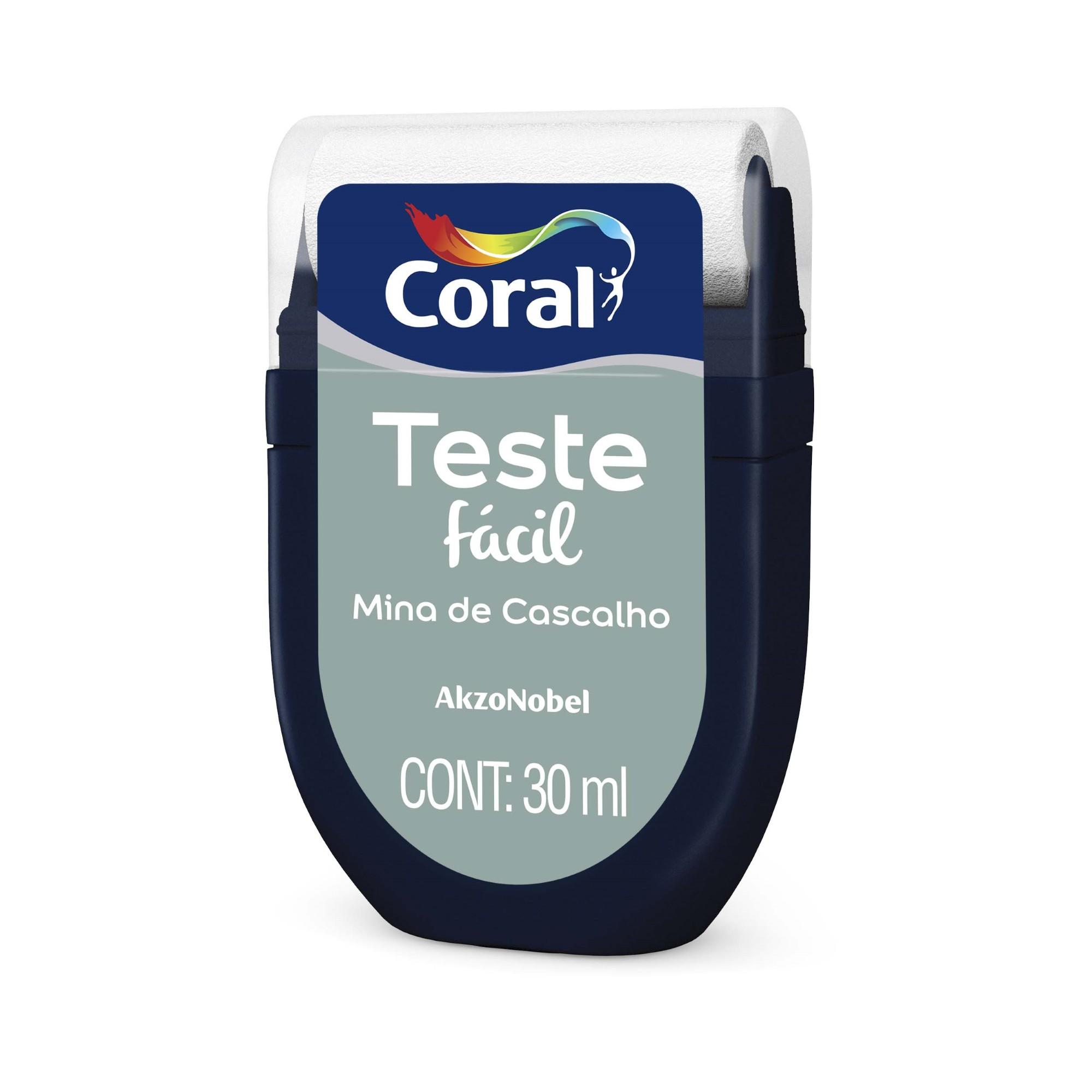 Teste Facil 30ml Mina de Cascalho - Coral