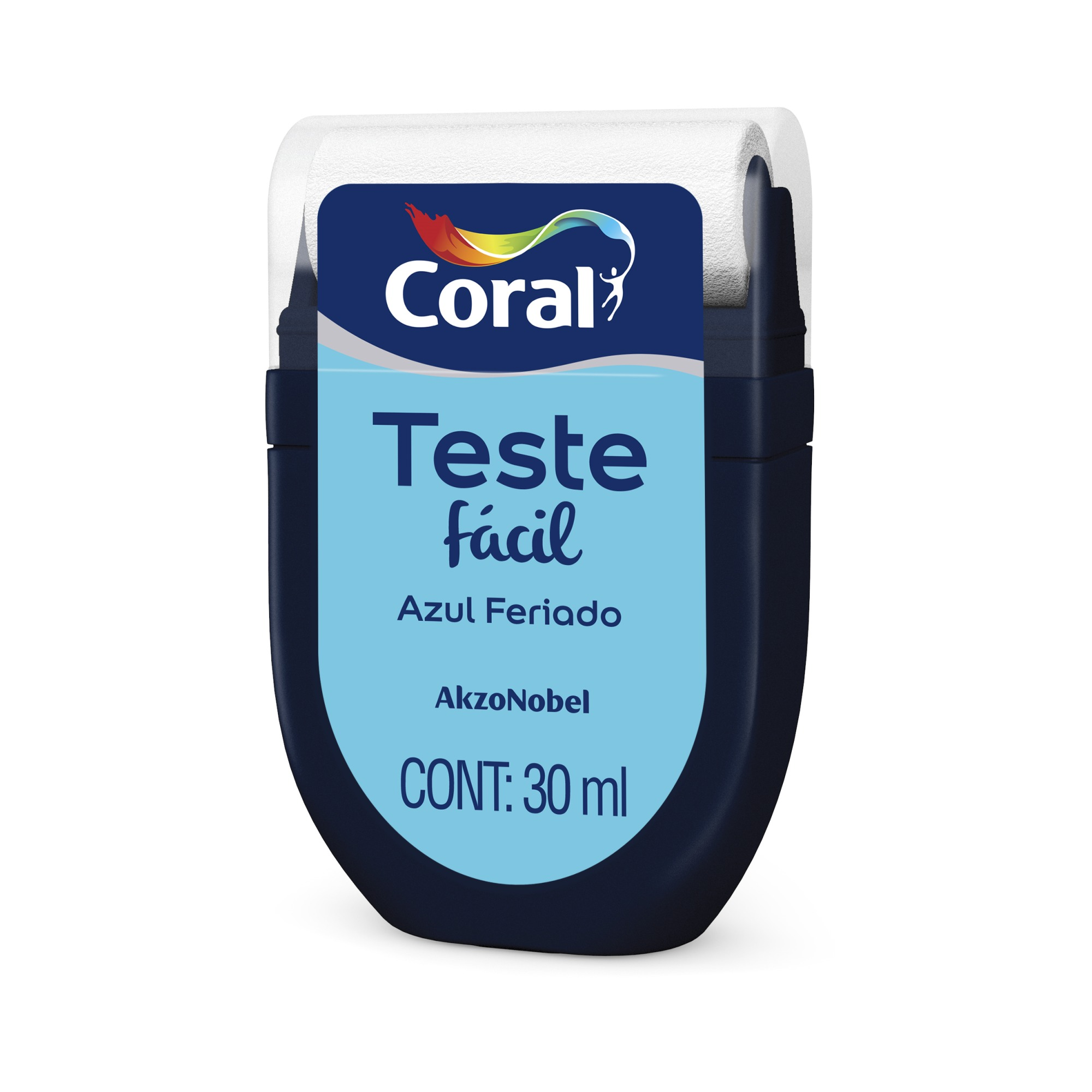 Teste Facil 30ml Azul Feriado - Coral