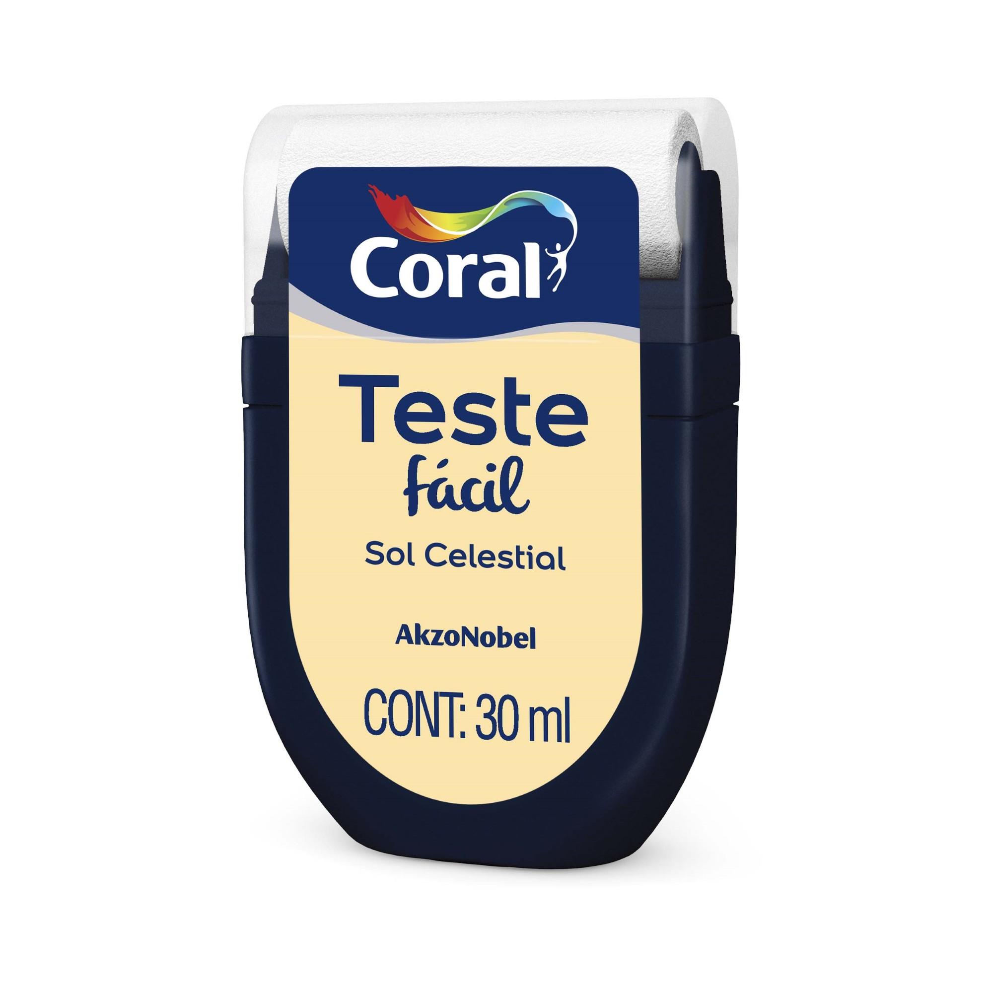 Teste Facil 30ml Sol Celestial - Coral