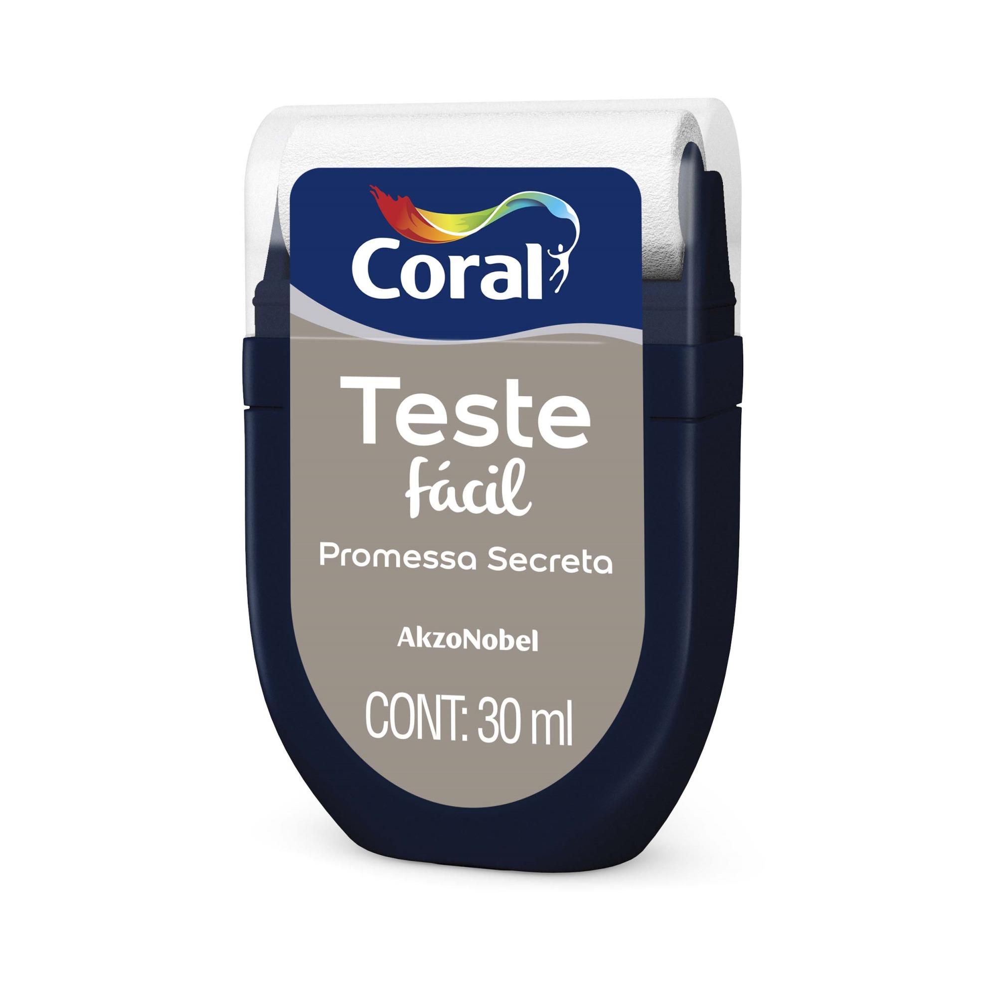 Teste Facil 30ml Promessa Secreta - Coral