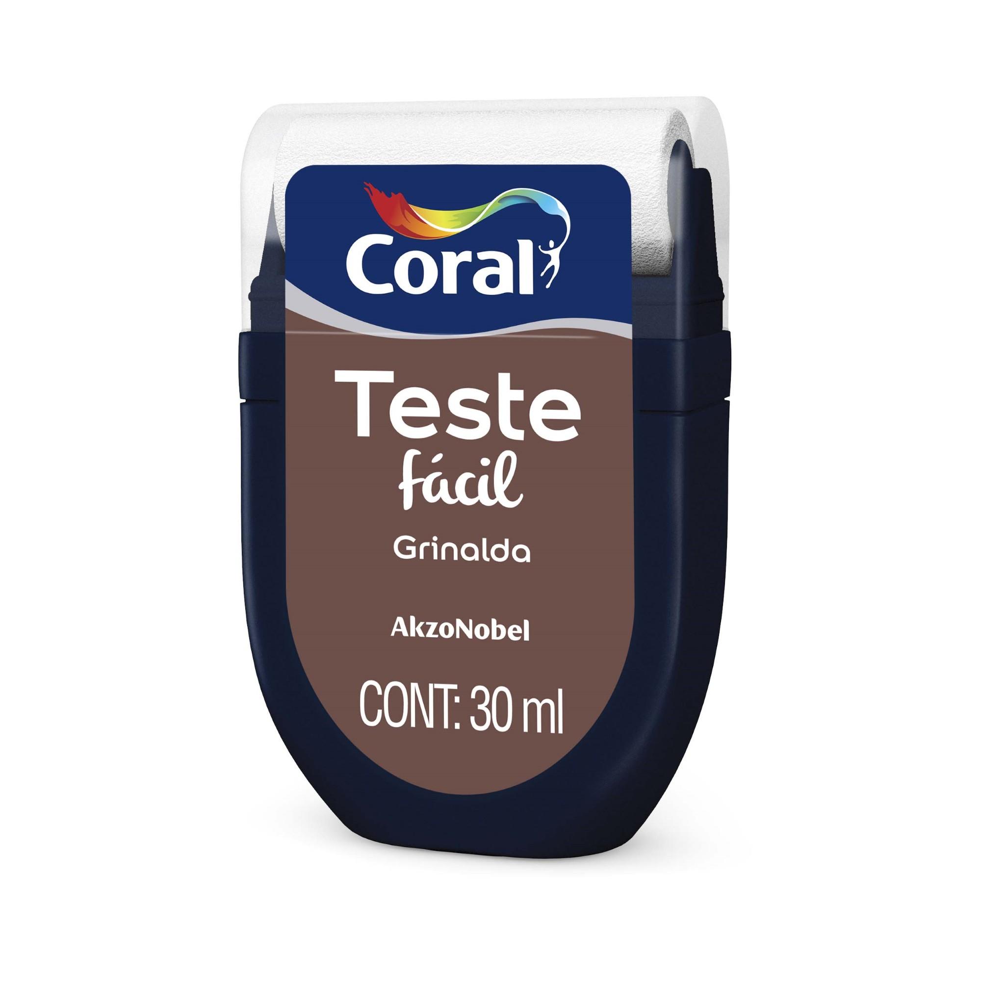 Teste Facil 30ml Grinalda - Coral