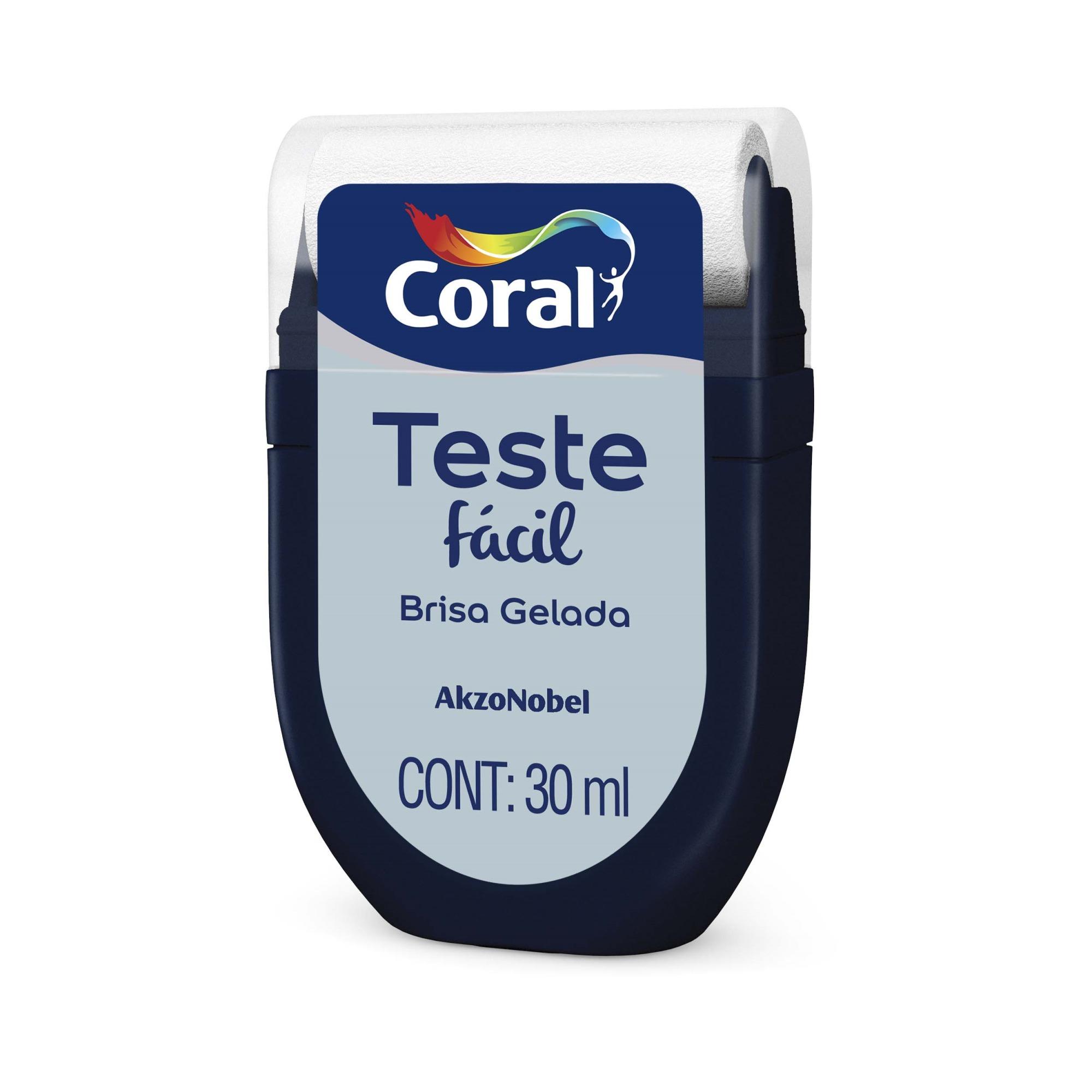 Teste Facil 30ml Brisa Gelada - Coral