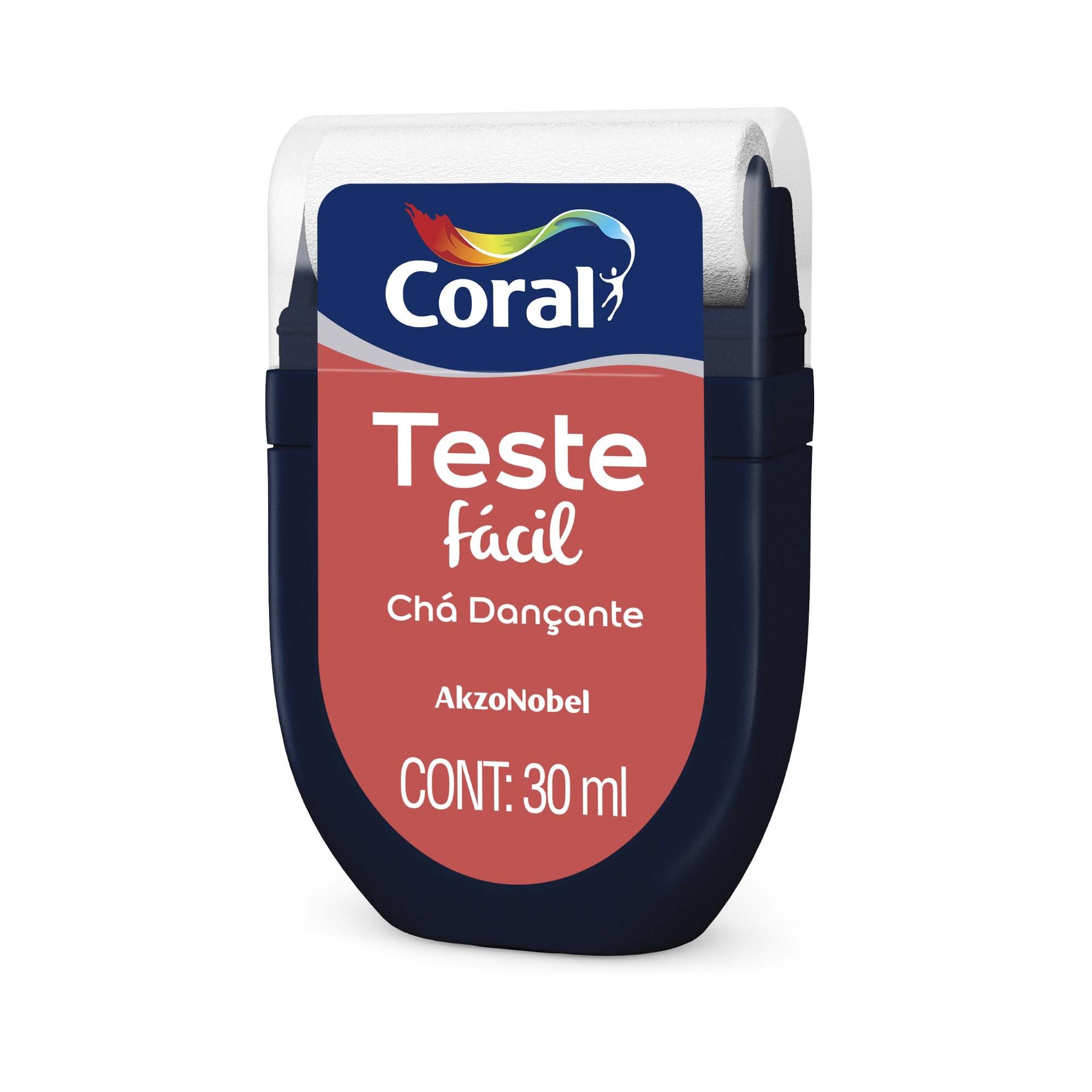 Teste Facil 30ml Cha Dancante - Coral