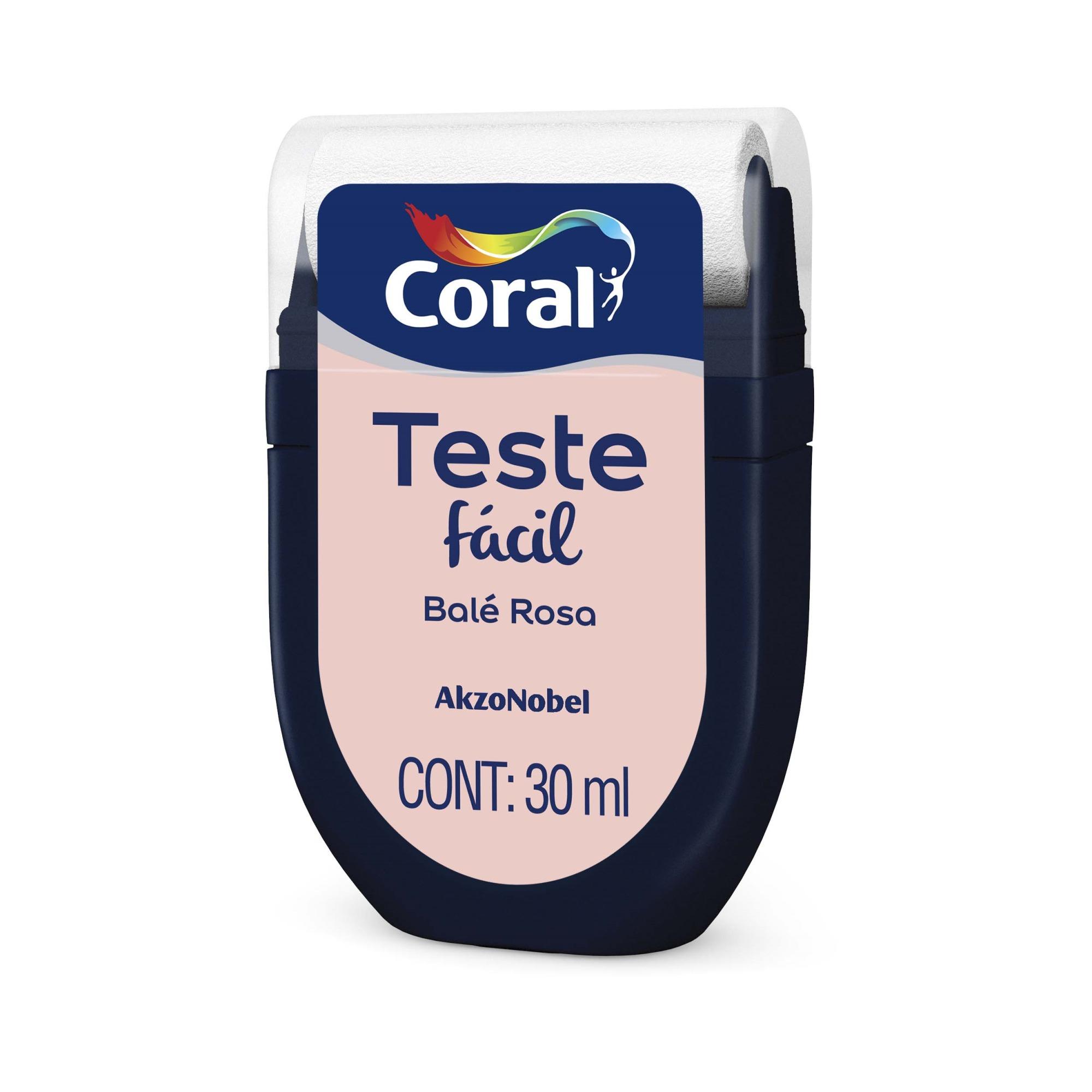 Teste Facil 30ml Bale Rosa - Coral