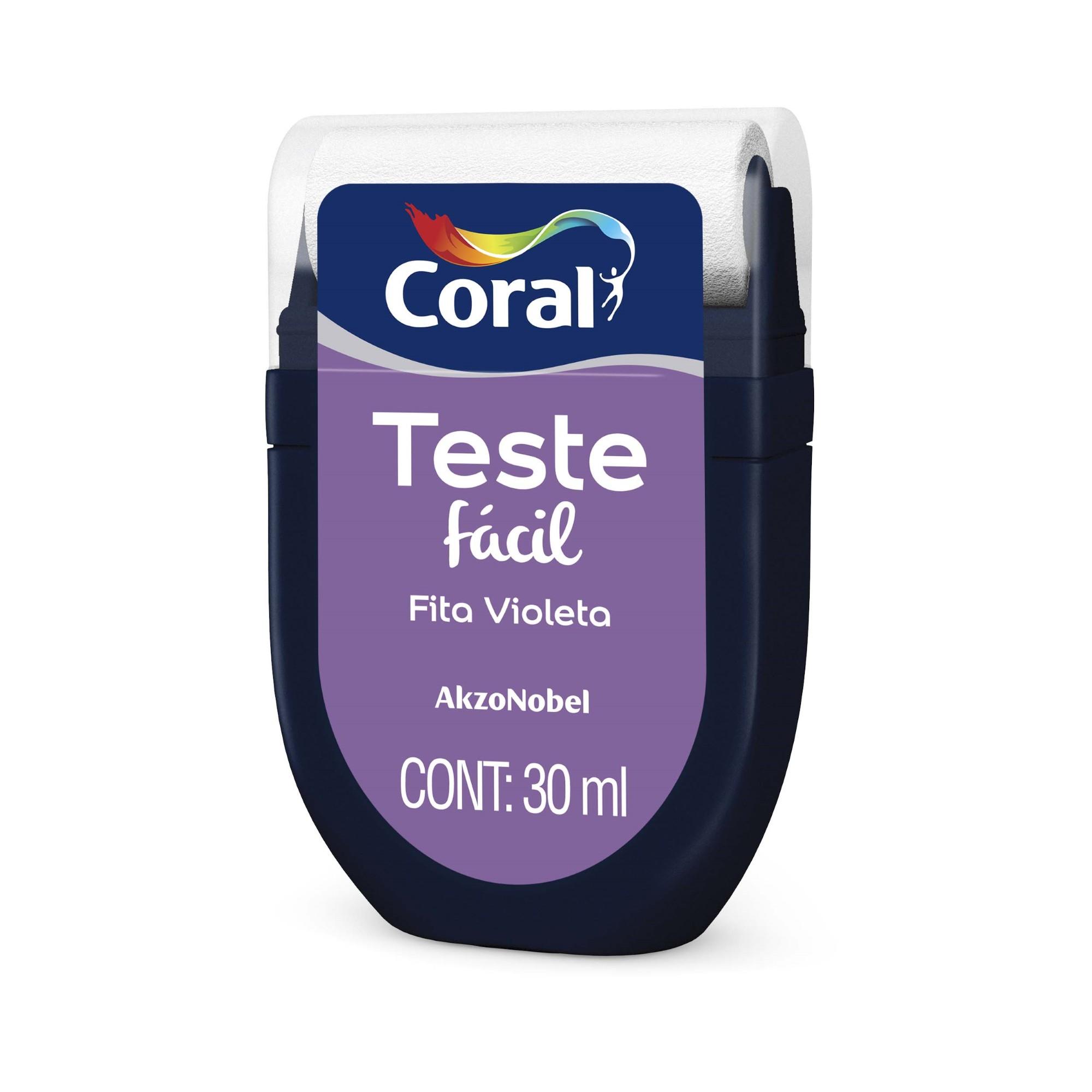 Teste Facil 30ml Fita Violeta - Coral