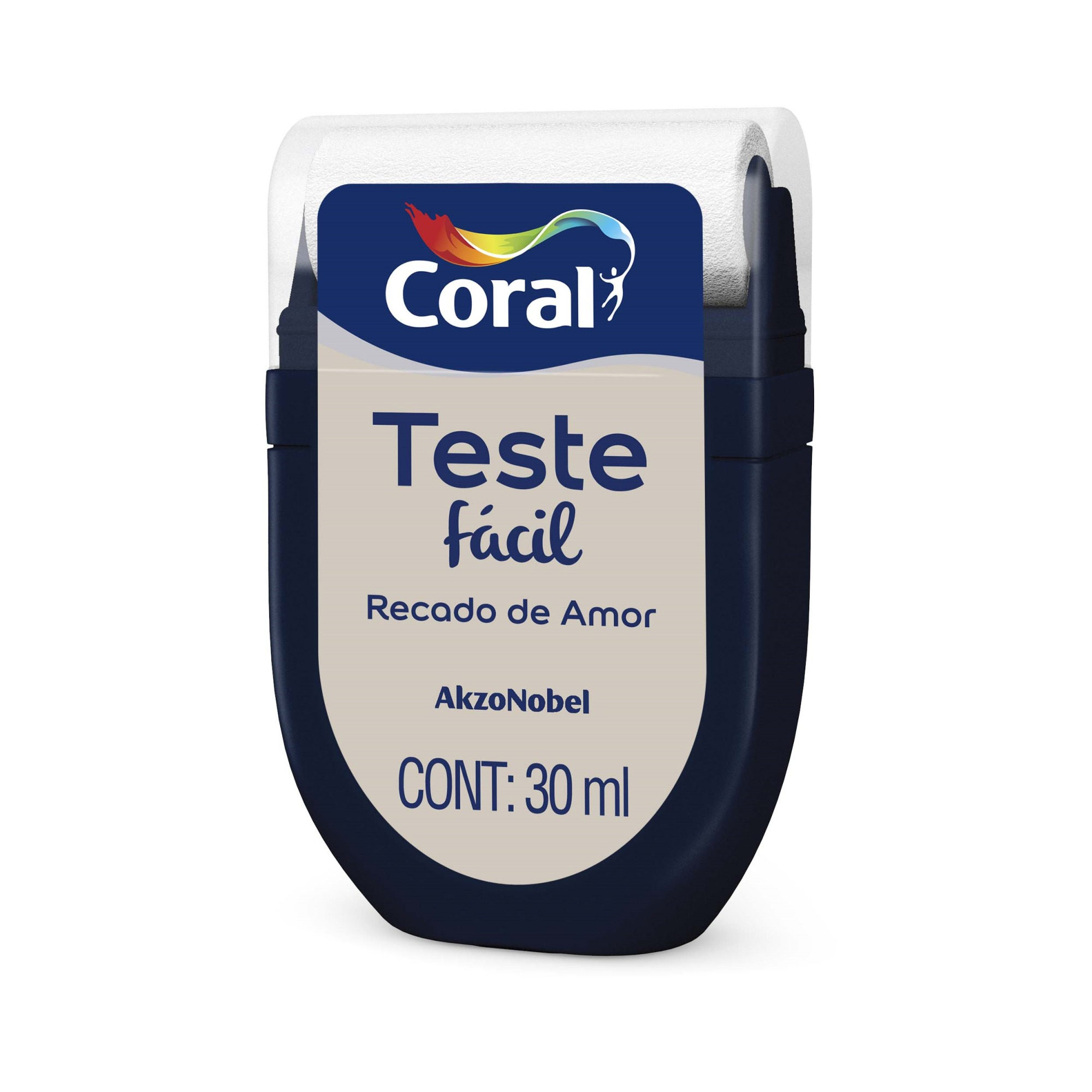 Teste Facil 30ml Recado de Amor - Coral