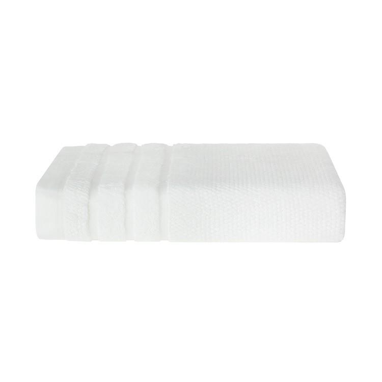 Toalha Banhao Massima 100x150cm Branco - Trussardi