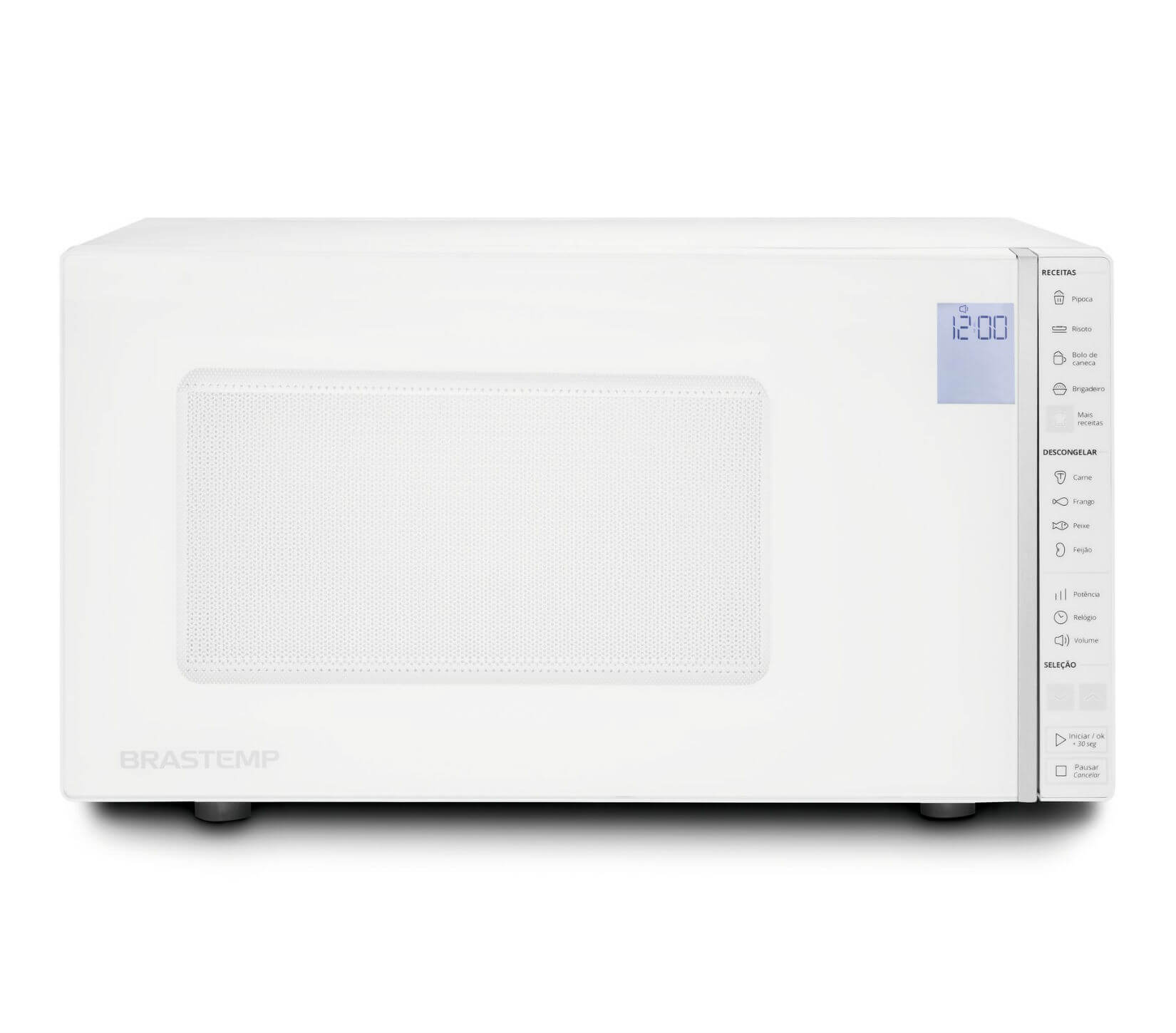 Micro-ondas Brastemp BMS45CBANA Branco 127V - 32L Painel Touch Timer
