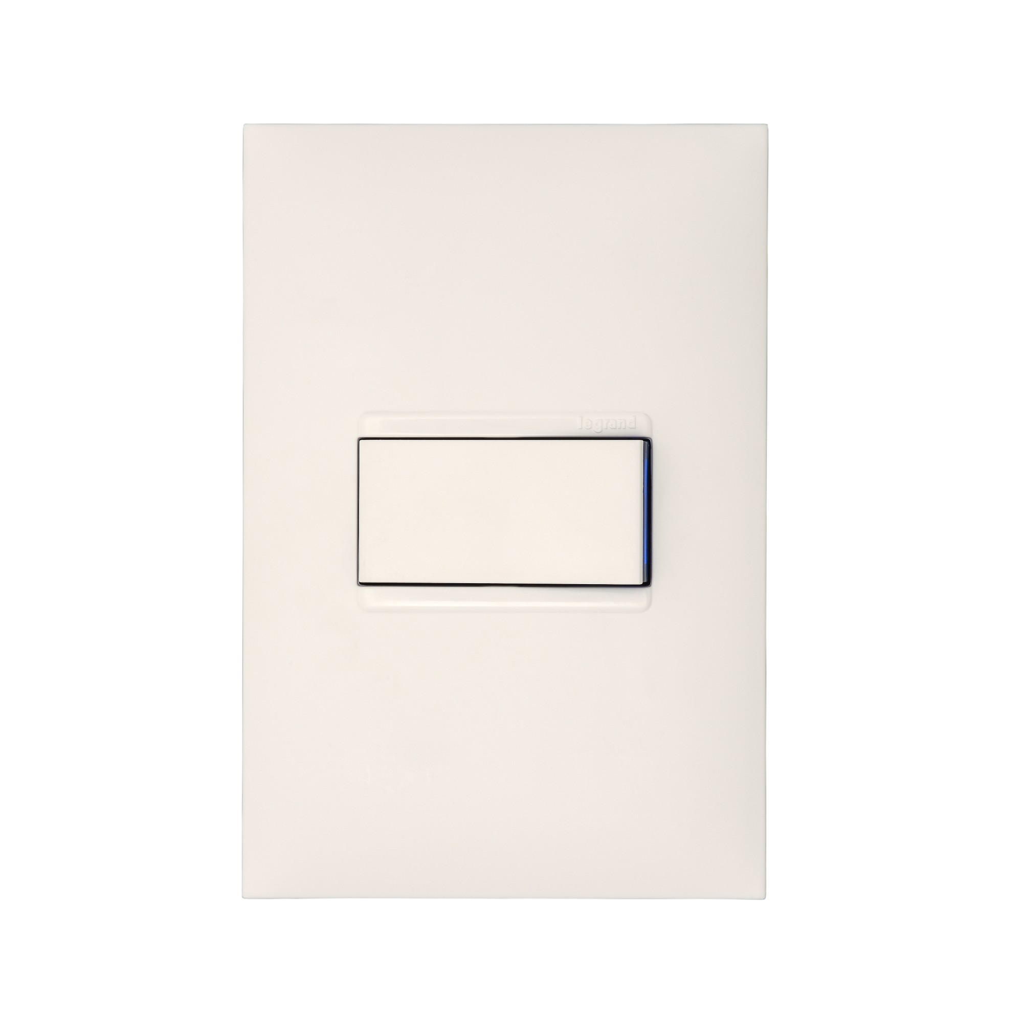 Conjunto Interruptor Simples 1 Modulo 10A - Branco - Plus - Legrand