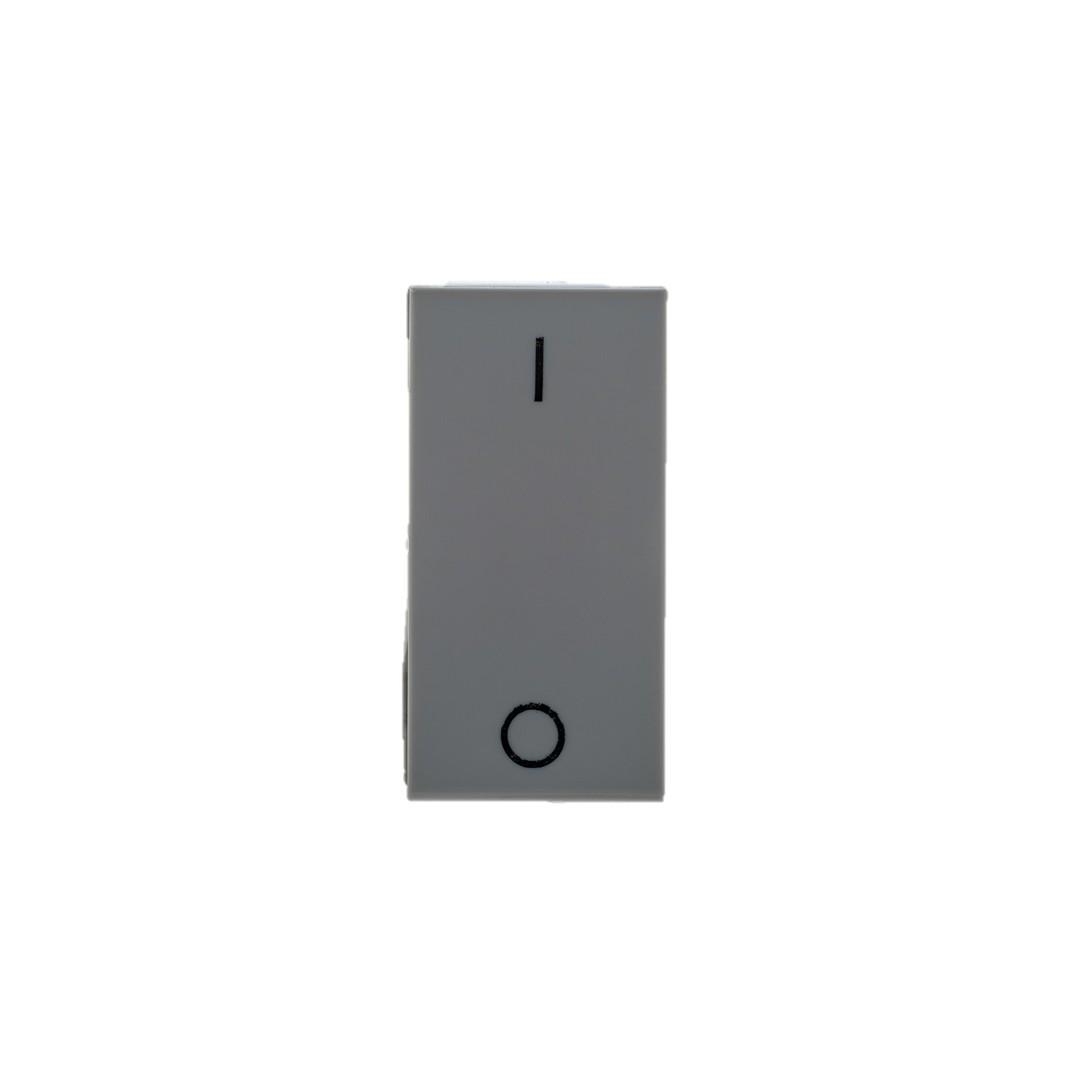 Modulo Interruptor Intermediario 1 Modulo 10A - Cinza - Plus - Legrand
