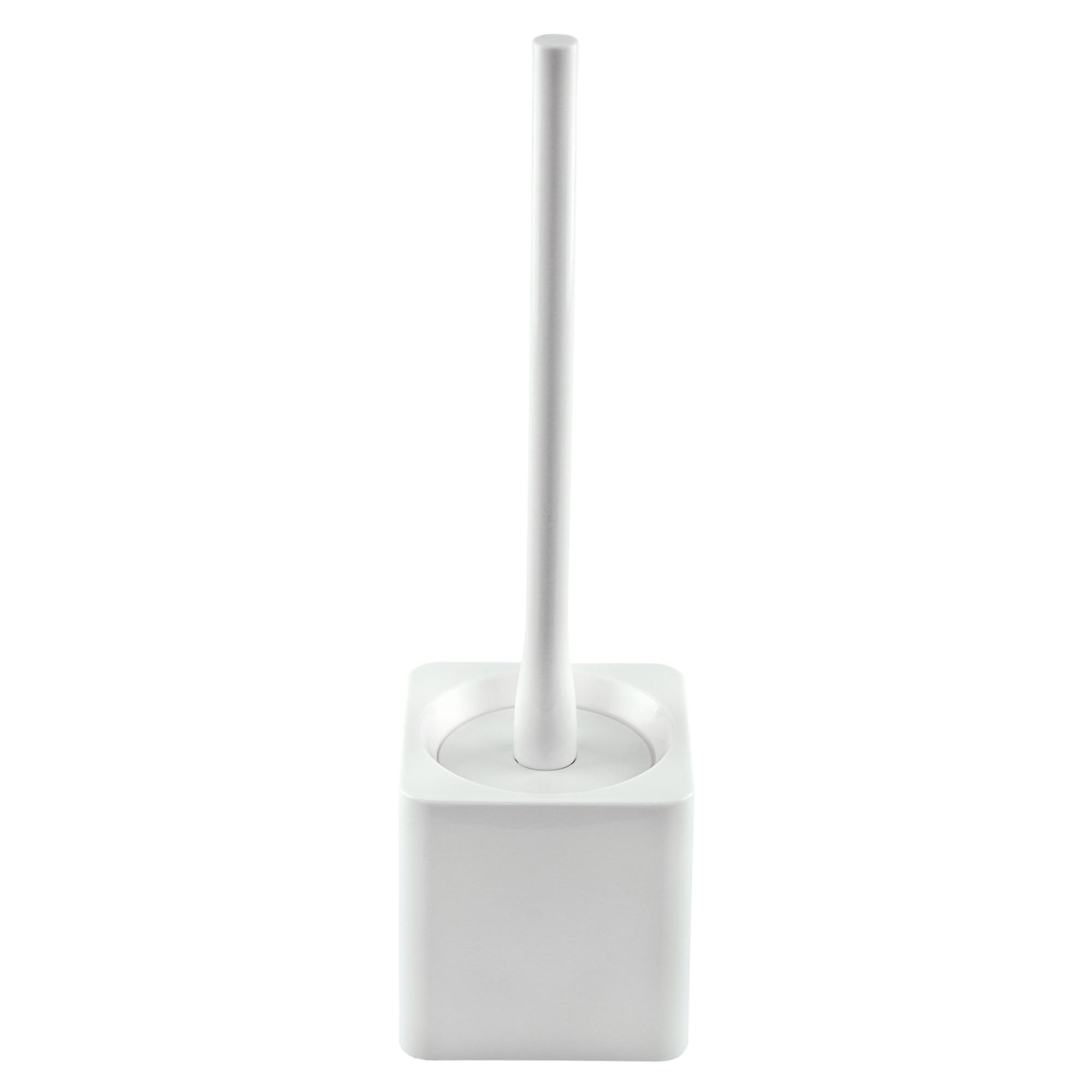 Escova Sanitaria Plastica Branca com Suporte 917002 - Bianchini