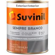 Tinta Esmalte Sintético Acetinado Premium 0,9L - Branco Neve - Sempre Branco Suvinil