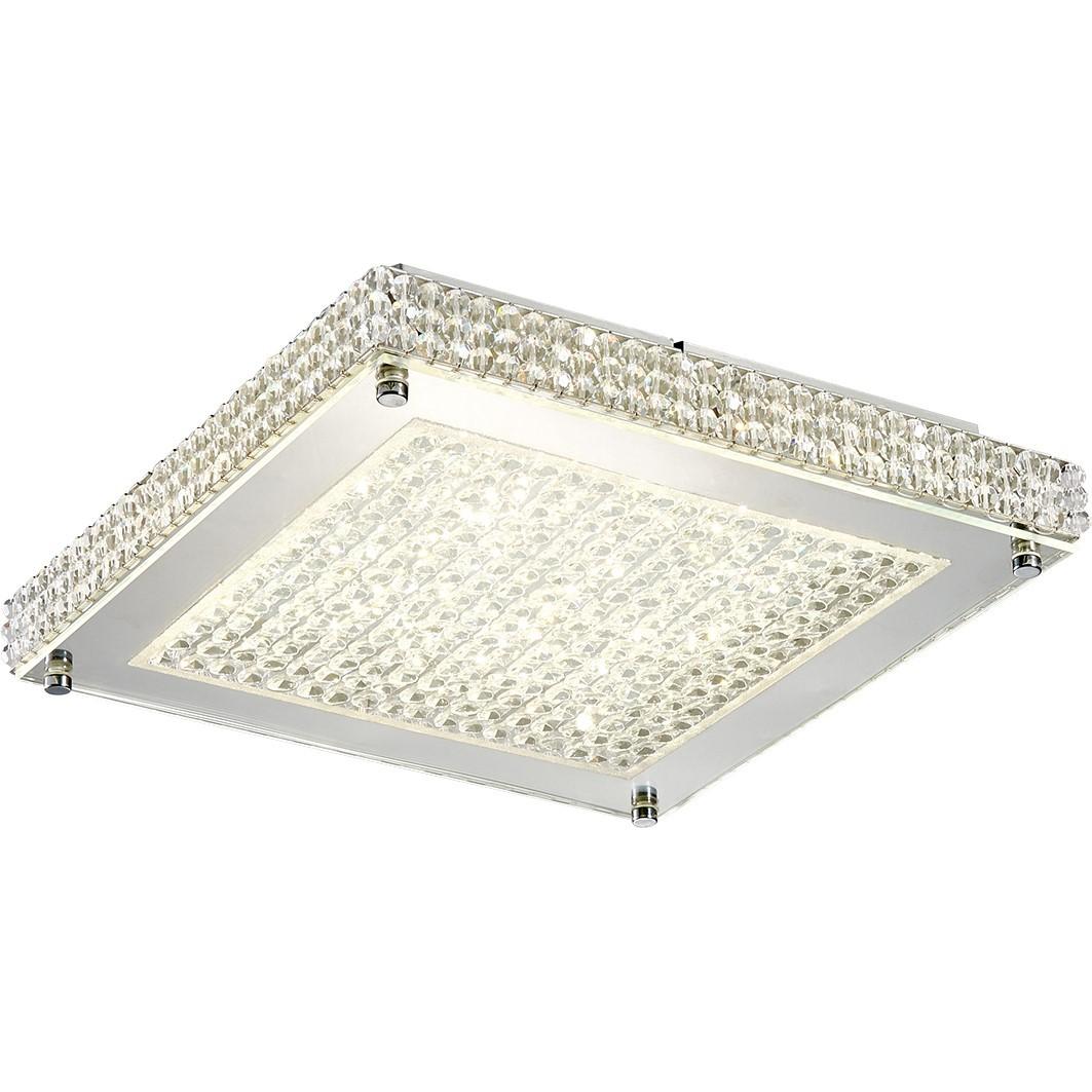 Plafon de Sobrepor Quadrado LED 18W 30 cm Ceiling Lamp - Ecoline