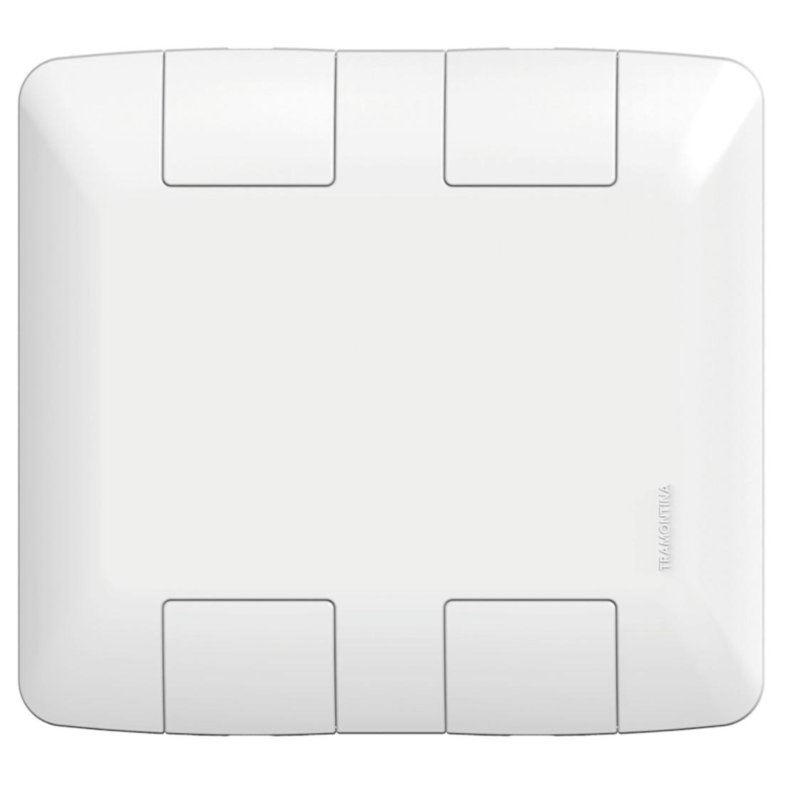 Placa 4x4 Cega Branco 57203021 Aria - Tramontina