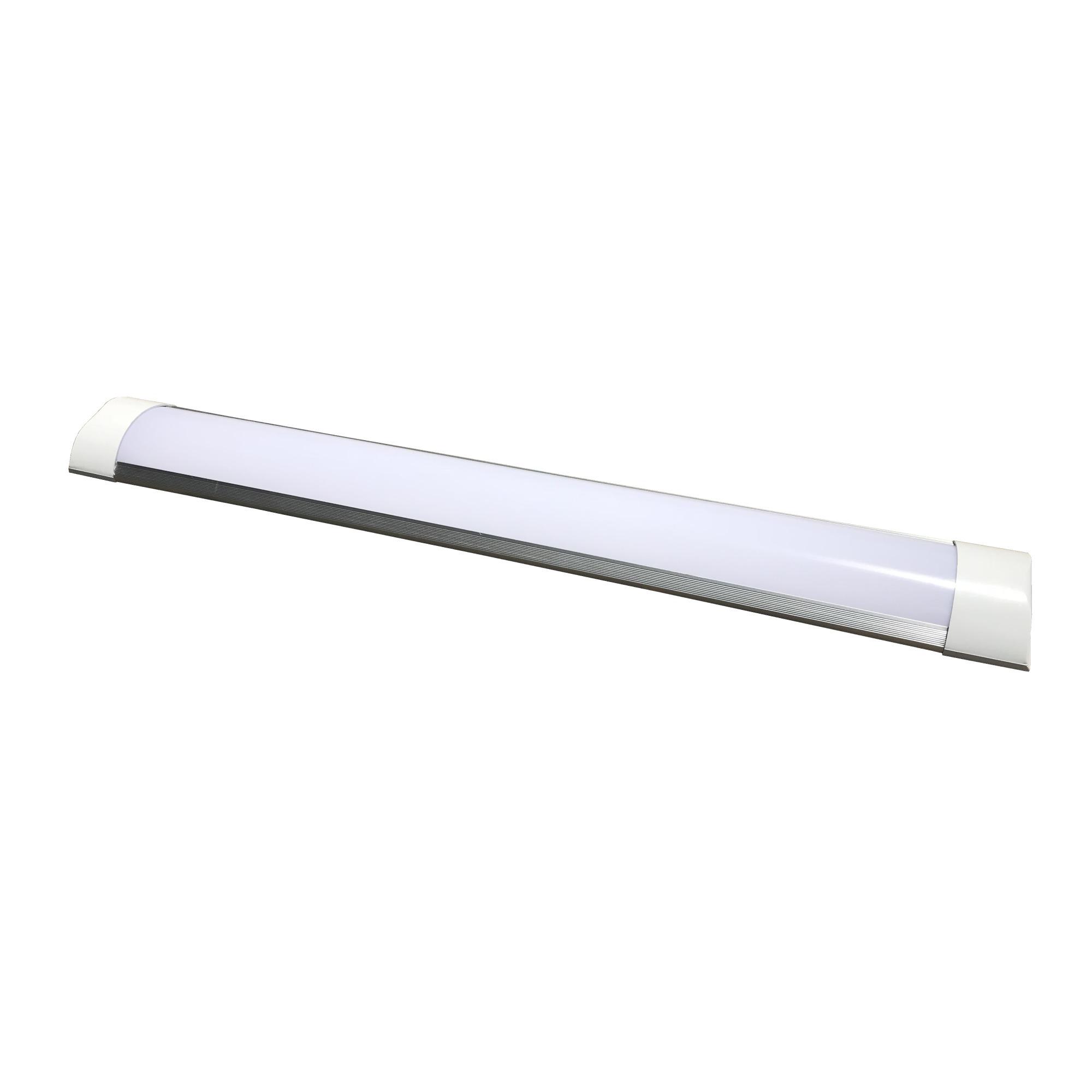 Luminaria de Sobrepor LED Slim 120CM 36W Bivolt - Nitrolux