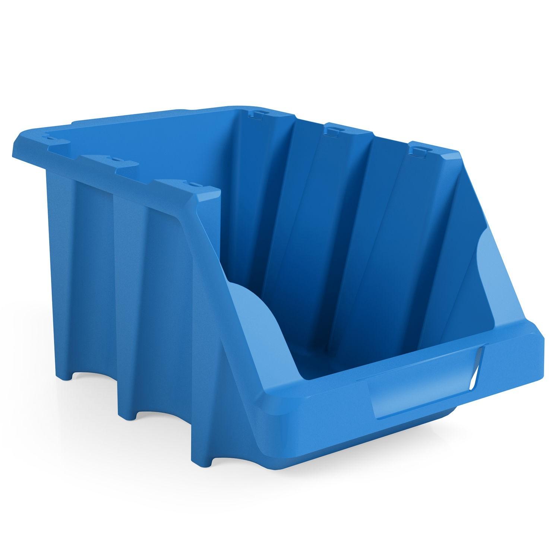 Gaveta Pratica Empilhavel de Plastico N 3 Azul - Presto