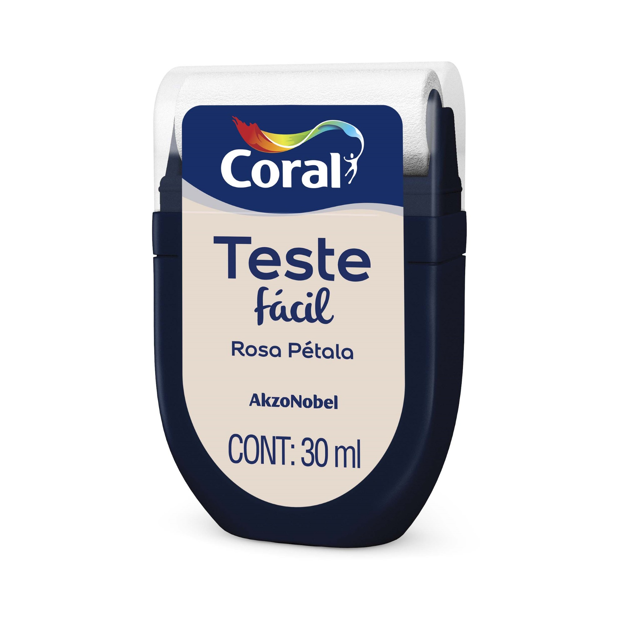 Teste Facil Rosa Petala 30ml - Coral