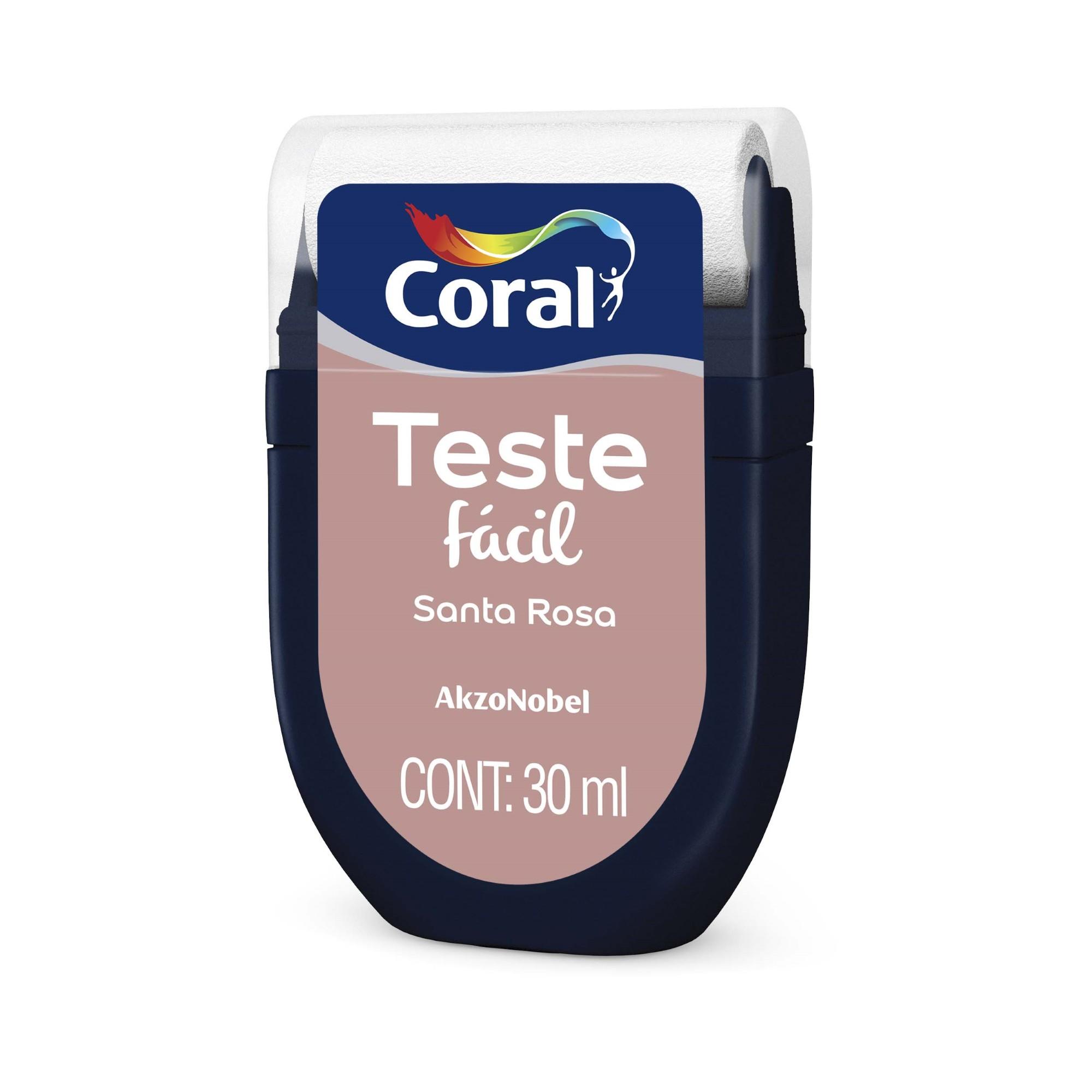 Teste Facil Santa Rosa 30ml - Coral